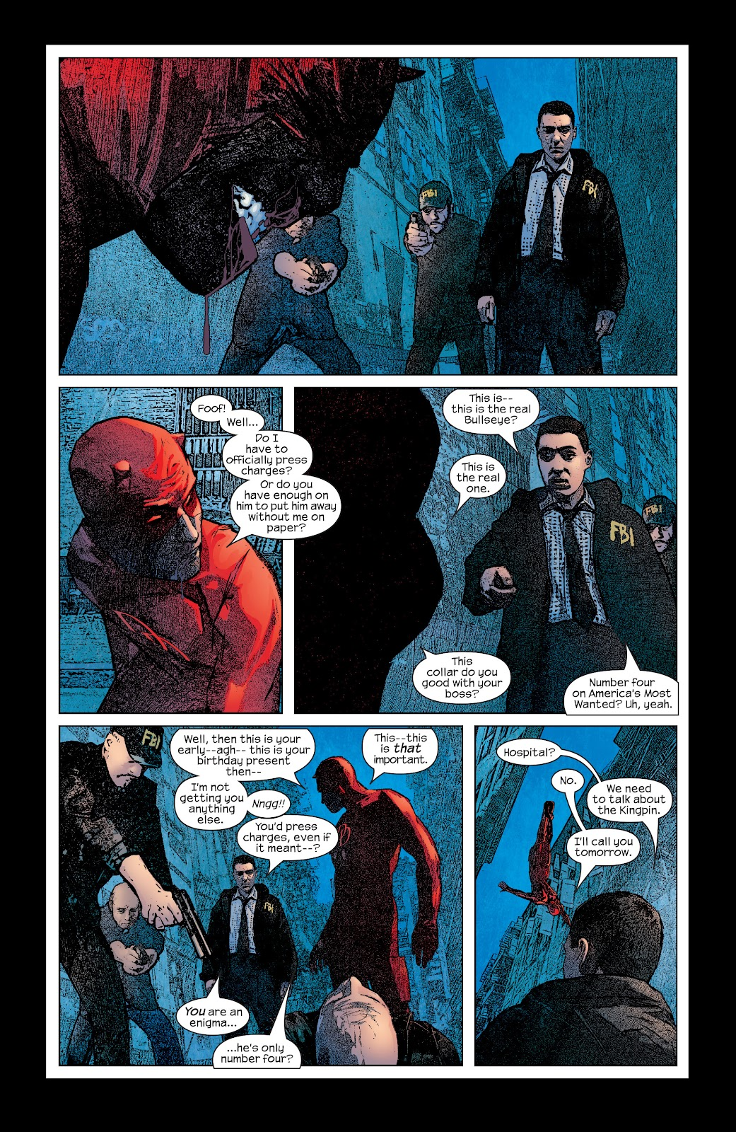 Read online Daredevil (1998) comic -  Issue # _Ultimate_Collection TPB 2 (Part 3) - 2