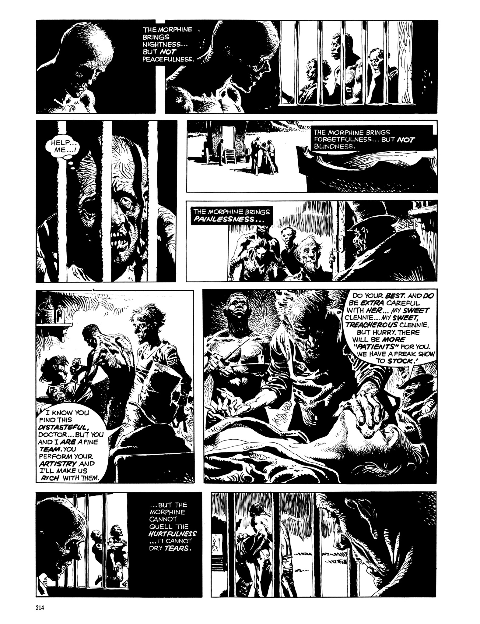 Read online Eerie Archives comic -  Issue # TPB 14 - 215