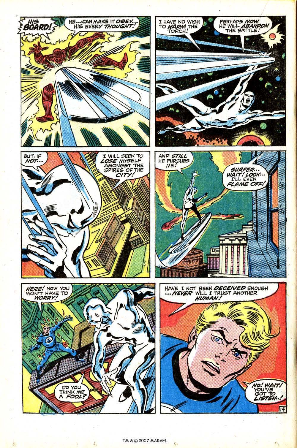 Read online Silver Surfer (1968) comic -  Issue #15 - 20