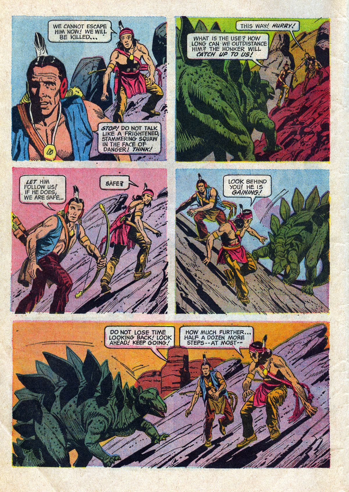 Read online Turok, Son of Stone comic -  Issue #61 - 4