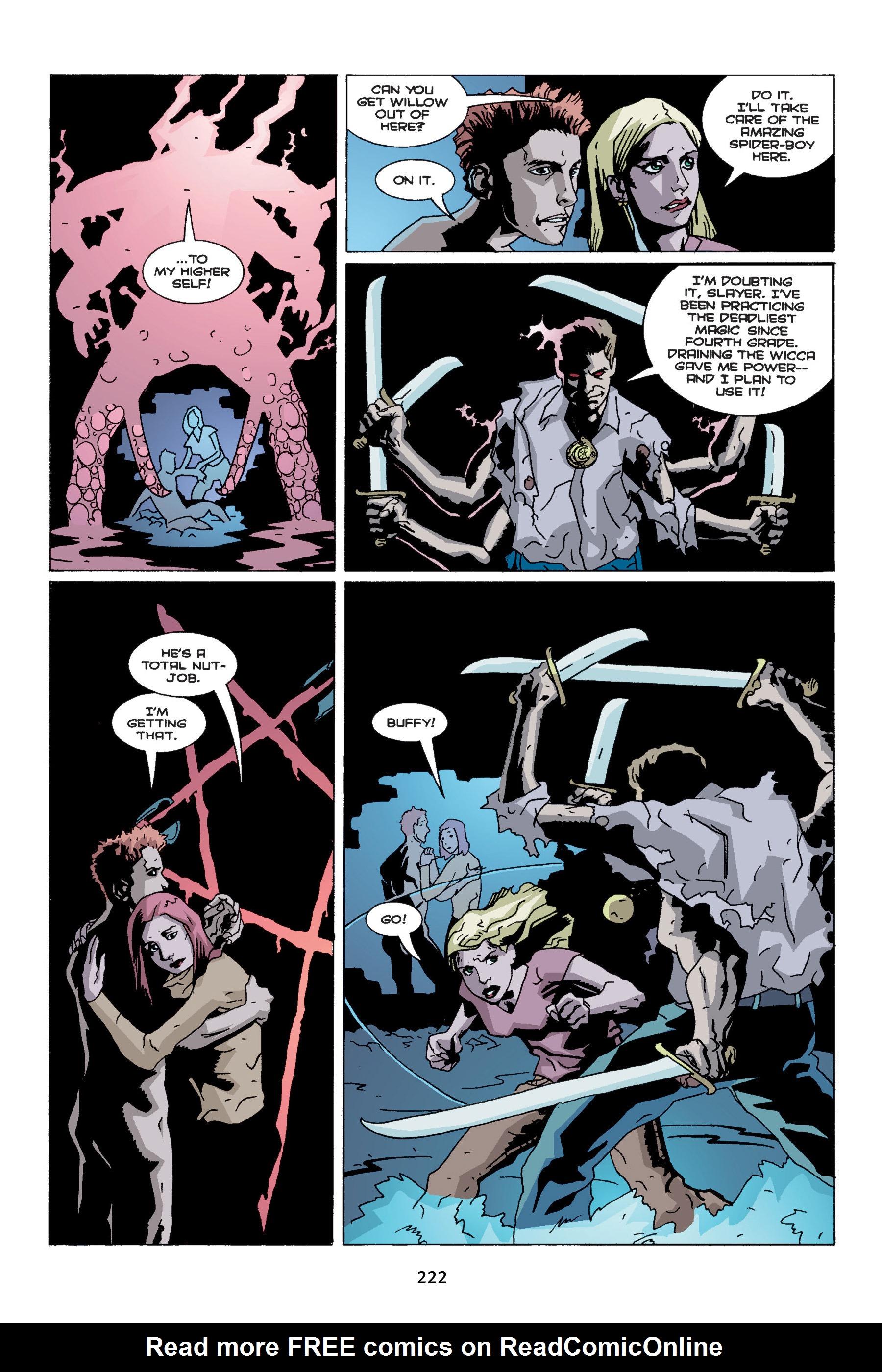 Read online Buffy the Vampire Slayer: Omnibus comic -  Issue # TPB 4 - 220