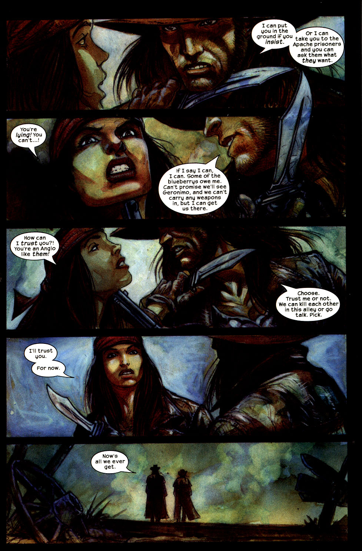 Read online Apache Skies comic -  Issue #3 - 9