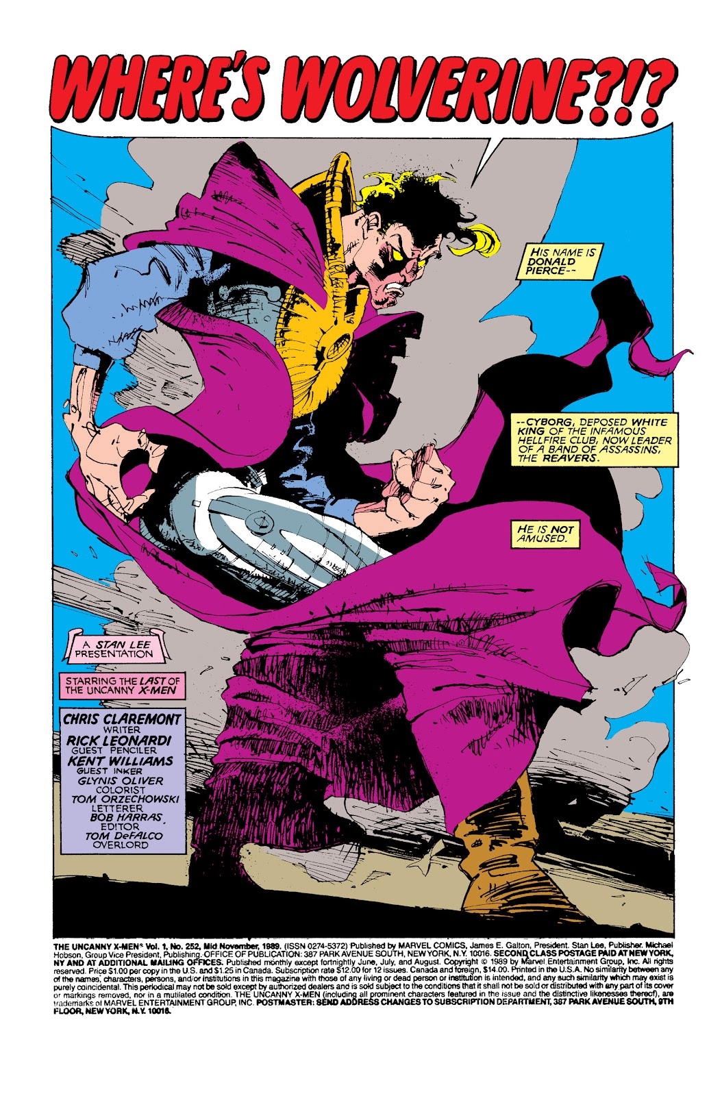 Uncanny X-Men (1963) issue 252 - Page 2