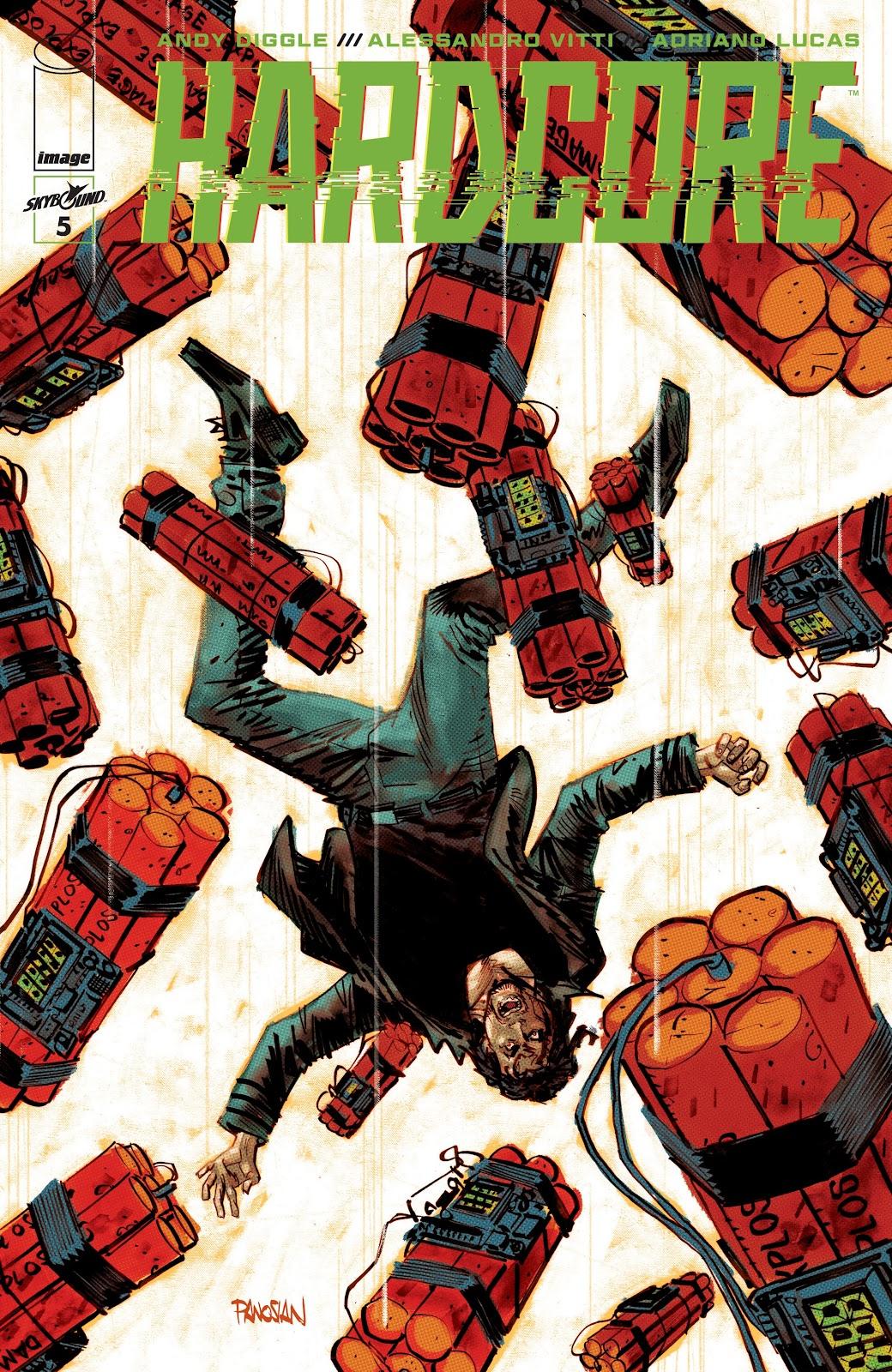 Read online Hardcore comic -  Issue #5 - 1