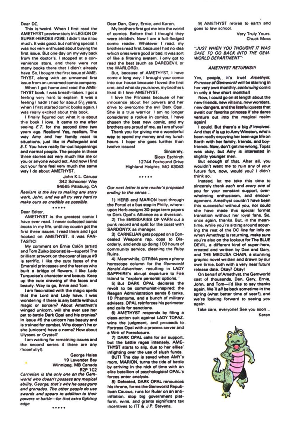 Read online Amethyst, Princess of Gemworld comic -  Issue #12 - 26
