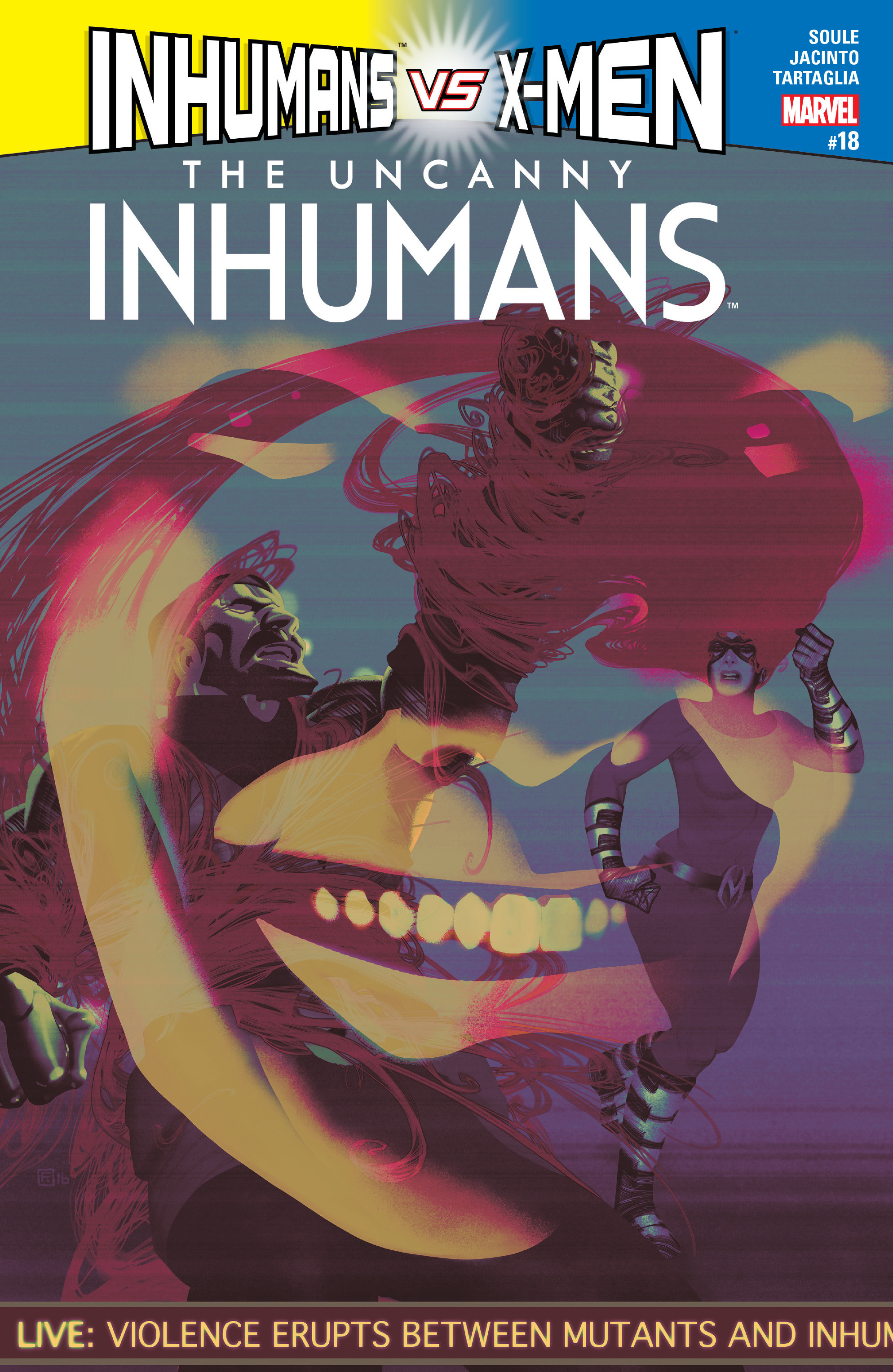 The Uncanny Inhumans 18 Page 1