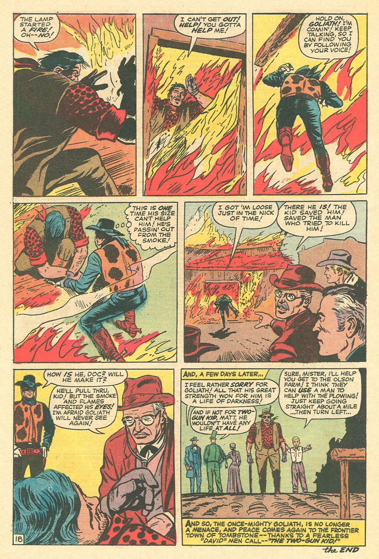 Read online Two-Gun Kid comic -  Issue #105 - 27