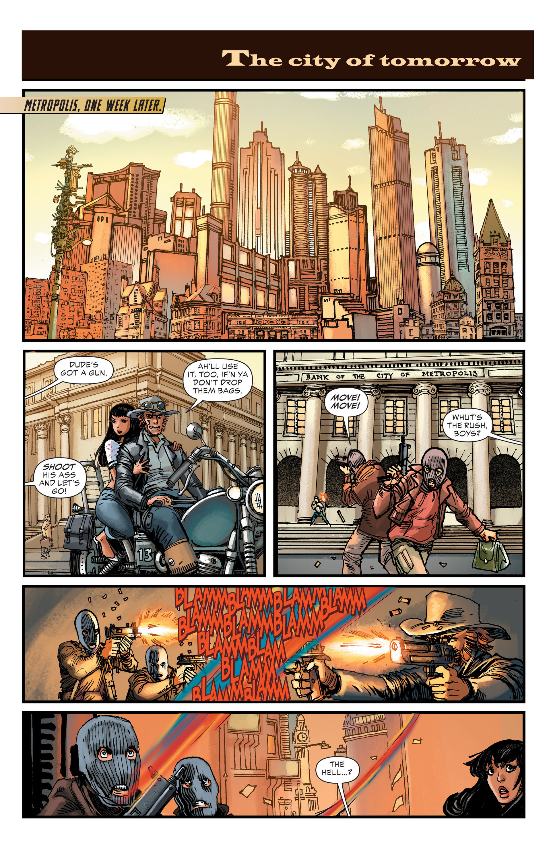 Read online All-Star Western (2011) comic -  Issue #26 - 22