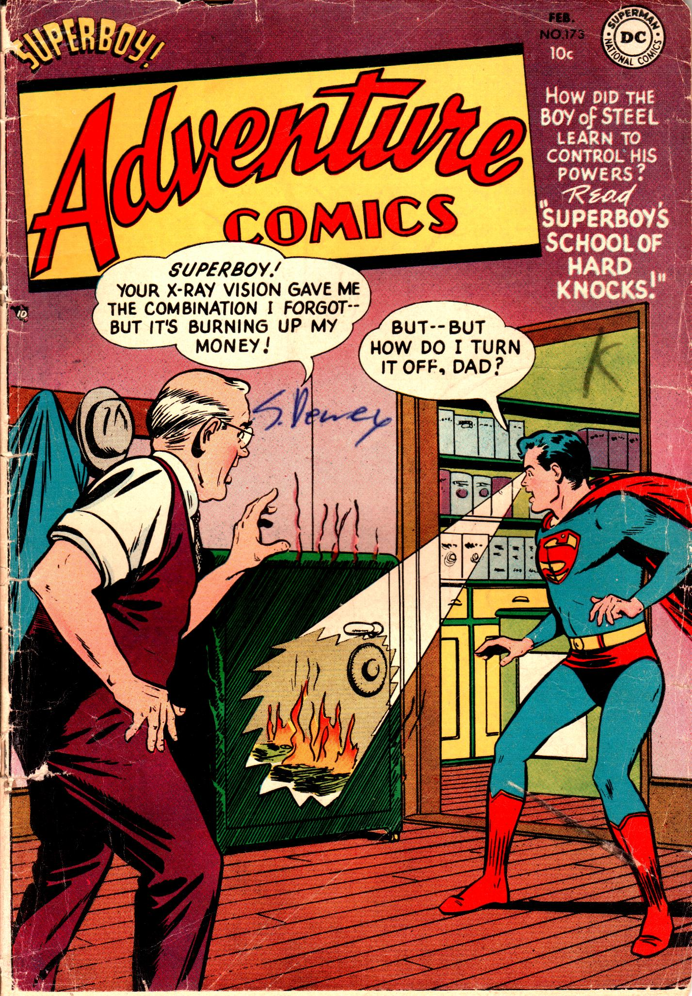 Read online Adventure Comics (1938) comic -  Issue #173 - 1