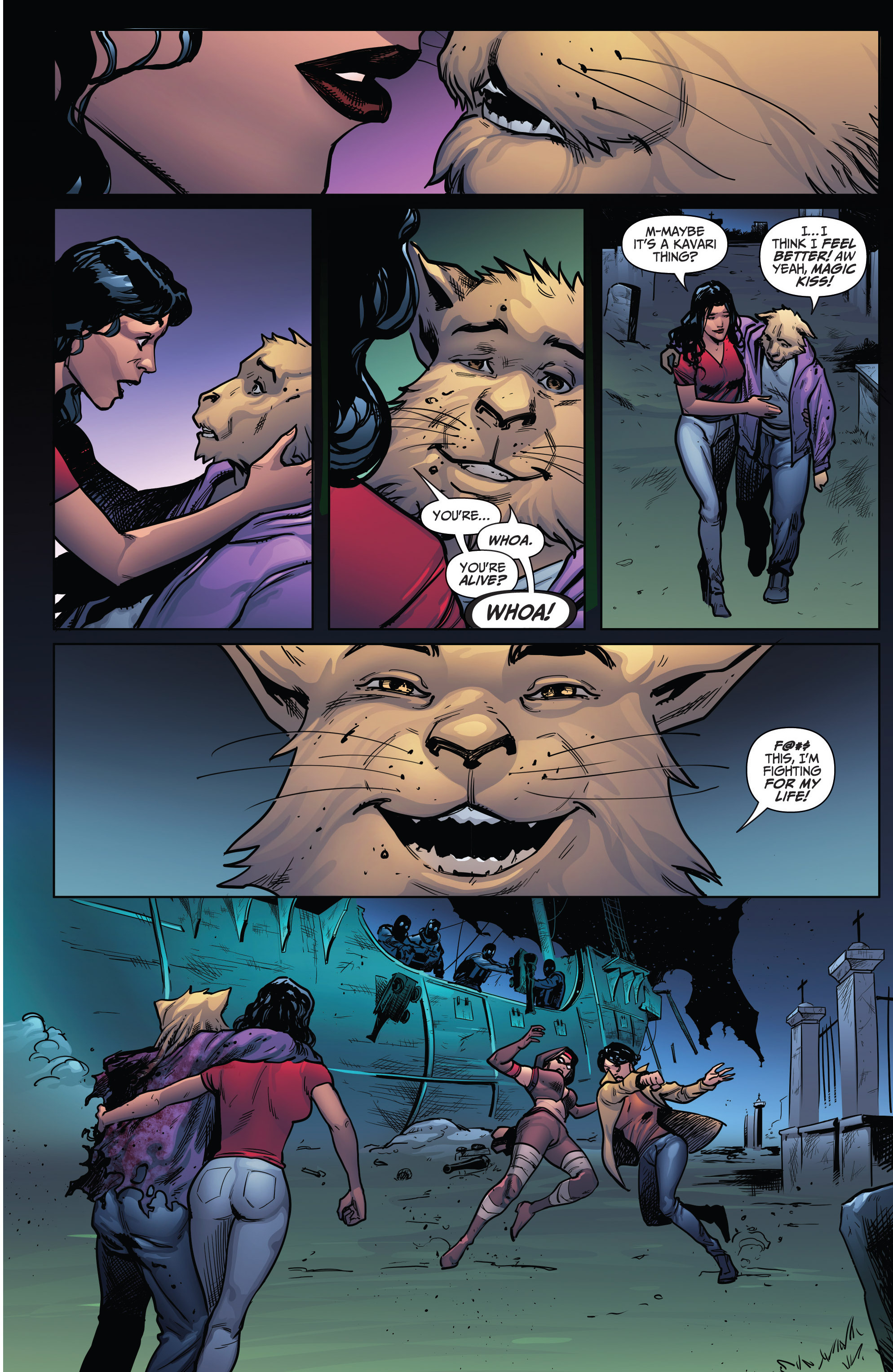 Read online Grimm Fairy Tales: Arcane Acre comic -  Issue # TPB 4 - 169