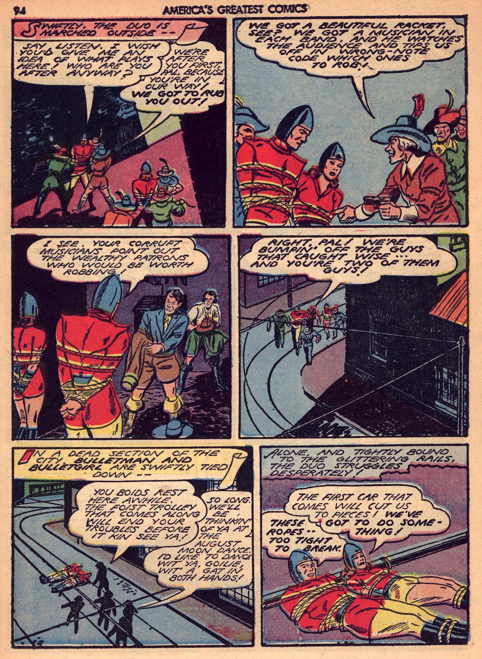 Read online America's Greatest Comics comic -  Issue #7 - 93