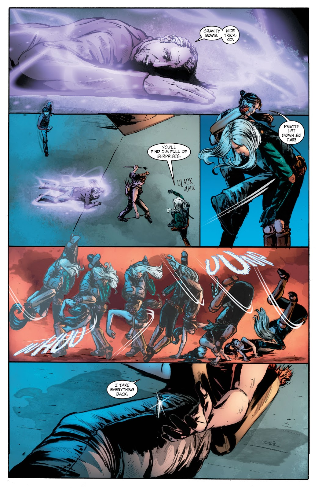 Read online Smallville Season 11 [II] comic -  Issue # TPB 7 - 160