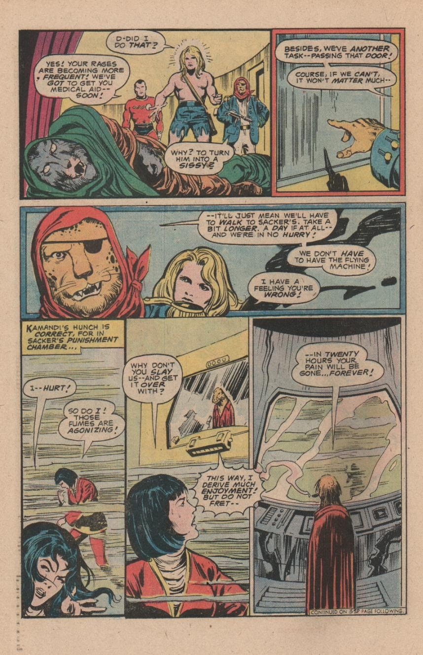 Kamandi, The Last Boy On Earth issue 47 - Page 22