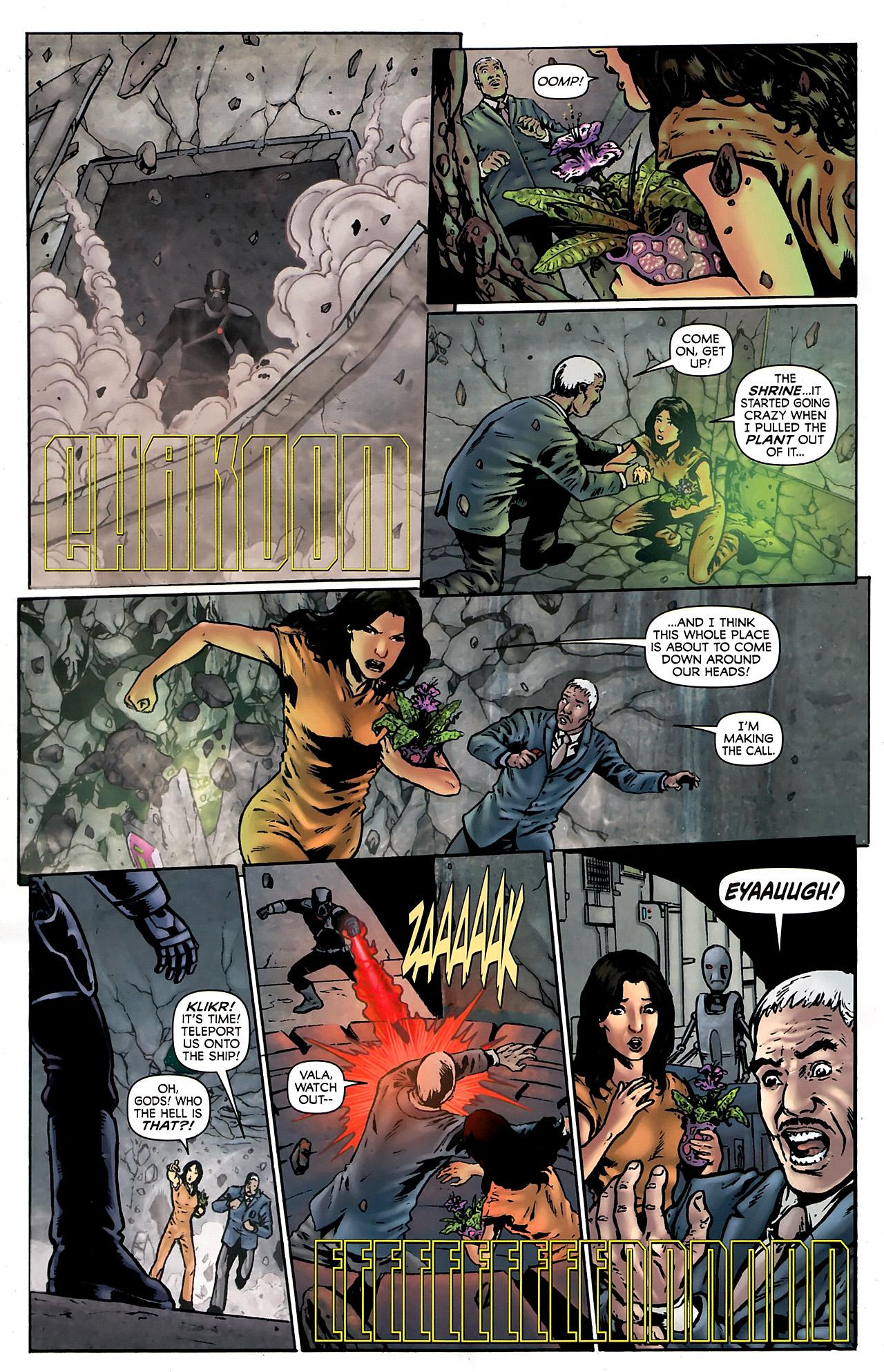 Read online Stargate Vala Mal Doran comic -  Issue #3 - 10
