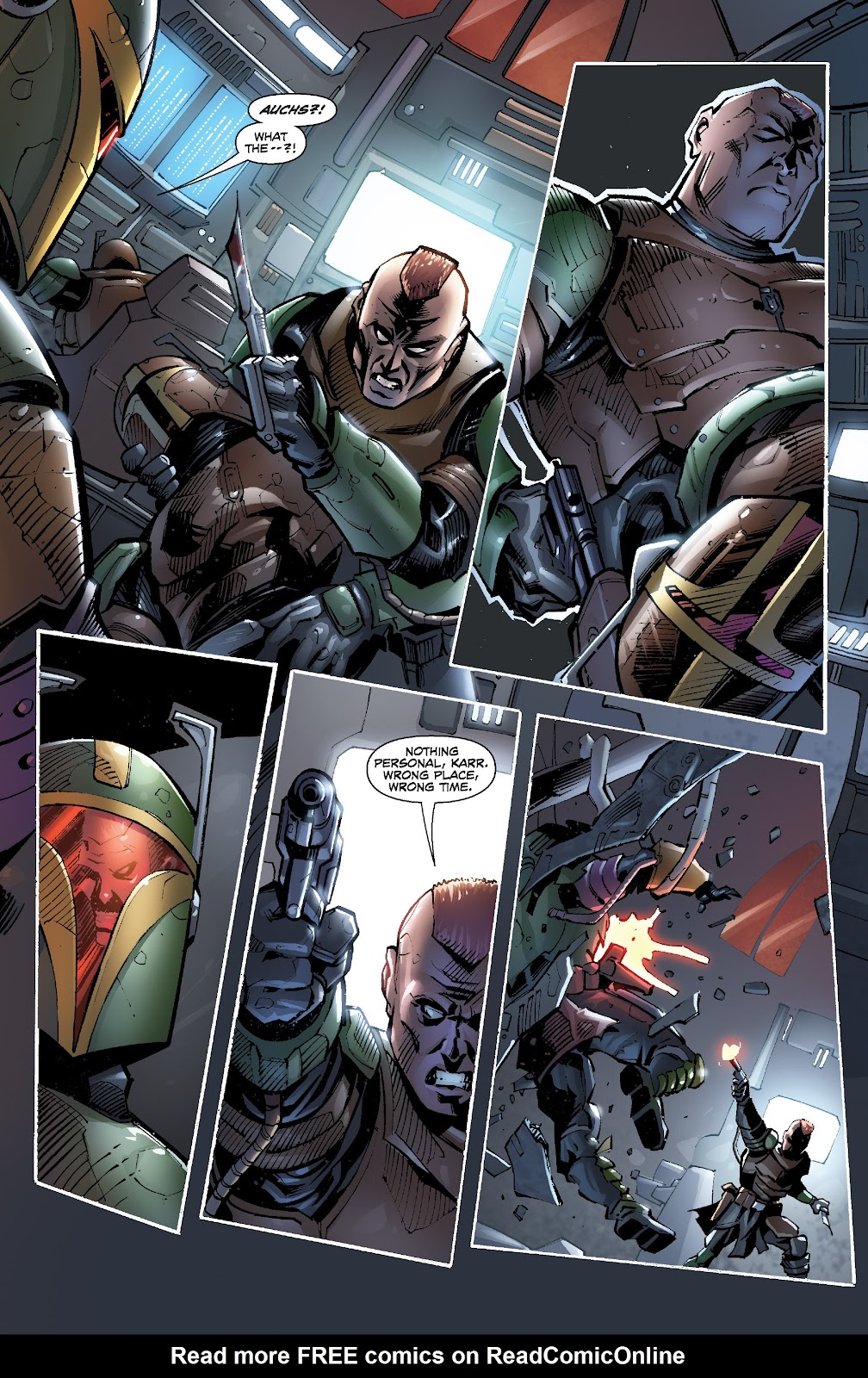 Read online Star Wars Legends: Legacy - Epic Collection comic -  Issue # TPB 2 (Part 5) - 15