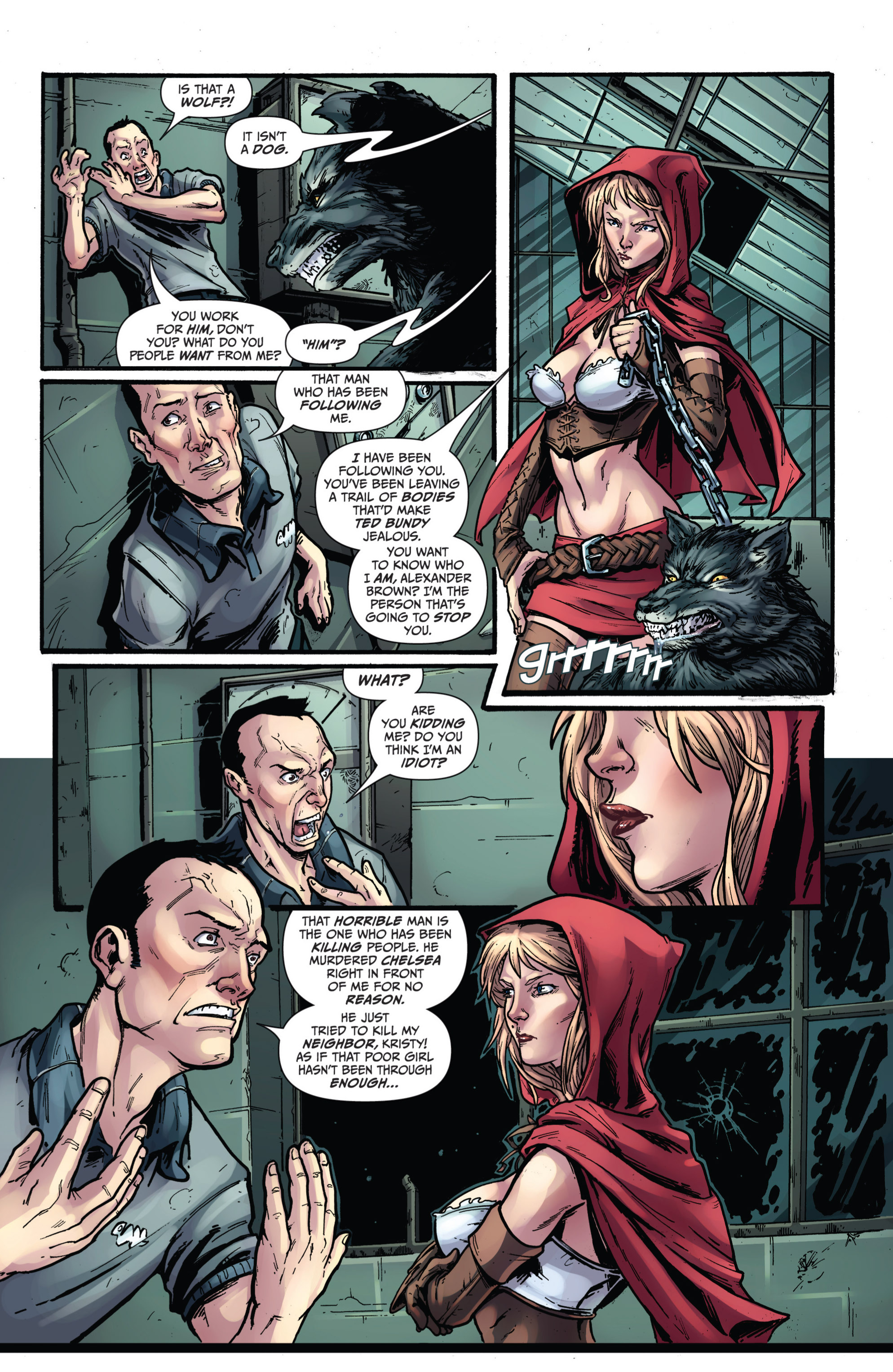 Read online Grimm Fairy Tales presents Grimm Universe comic -  Issue # TPB - 88