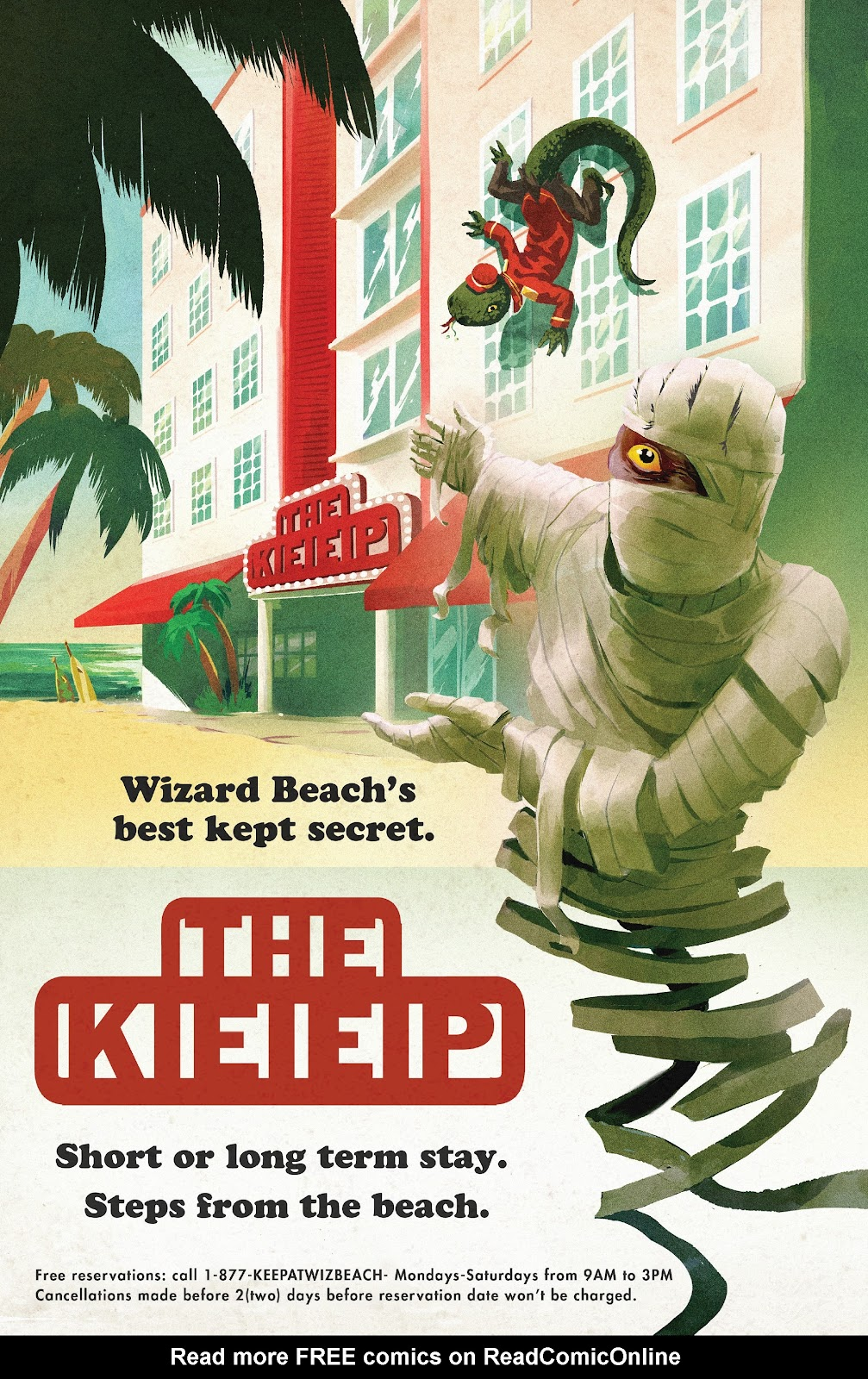 Read online Wizard Beach comic -  Issue #4 - 8