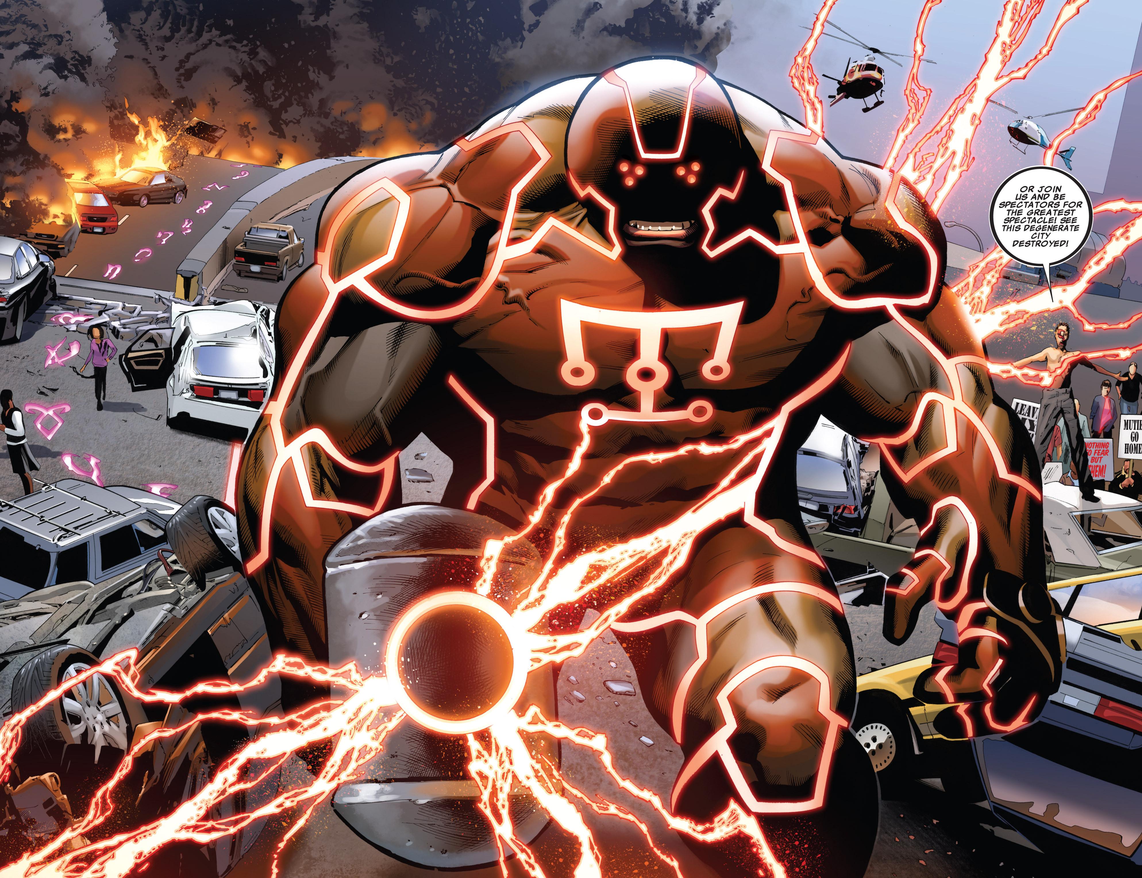Read online Uncanny X-Men (1963) comic -  Issue #540 - 21