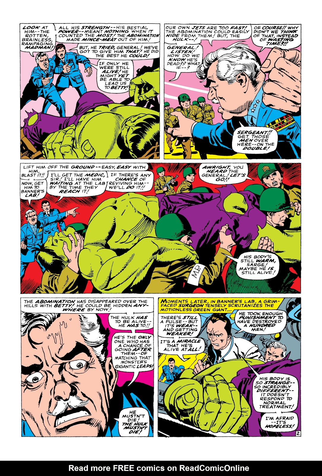 Read online Marvel Masterworks: The Incredible Hulk comic -  Issue # TPB 3 (Part 2) - 30
