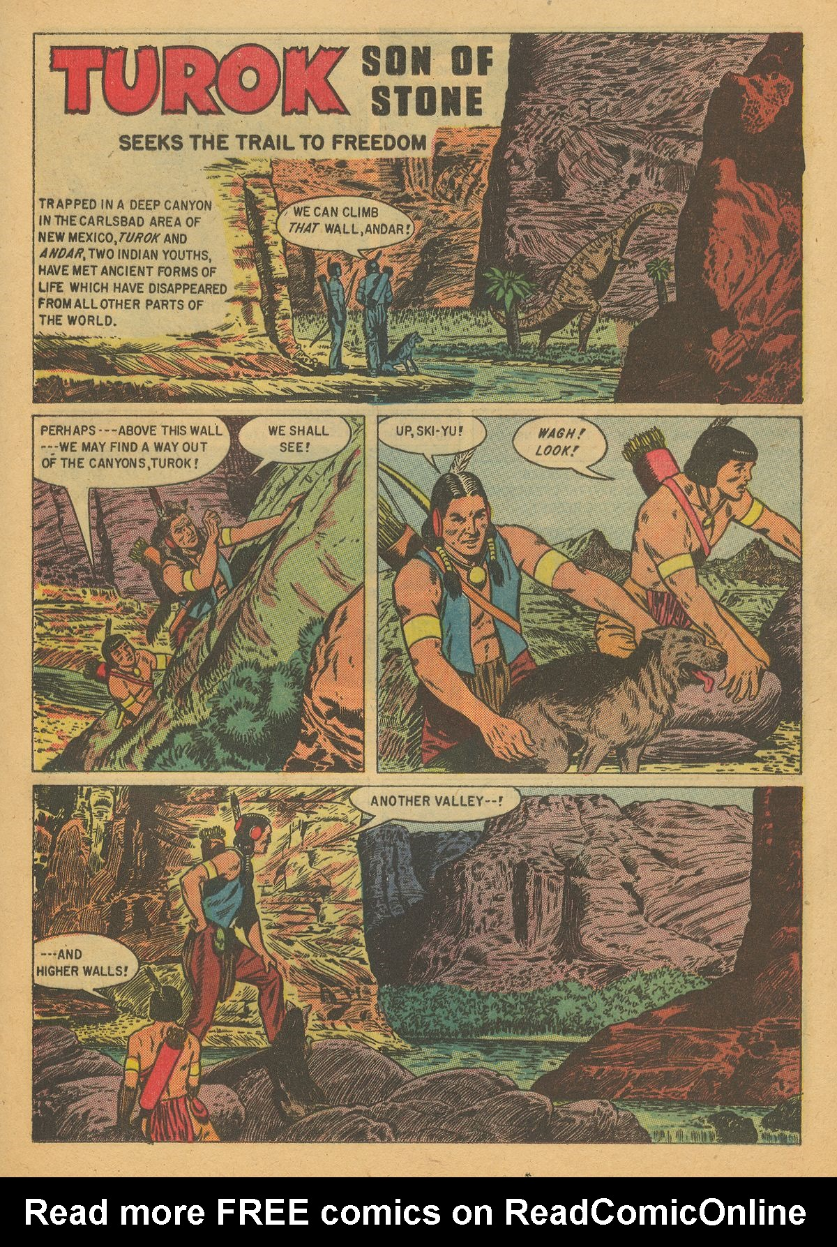 Read online Turok, Son of Stone comic -  Issue #8 - 21