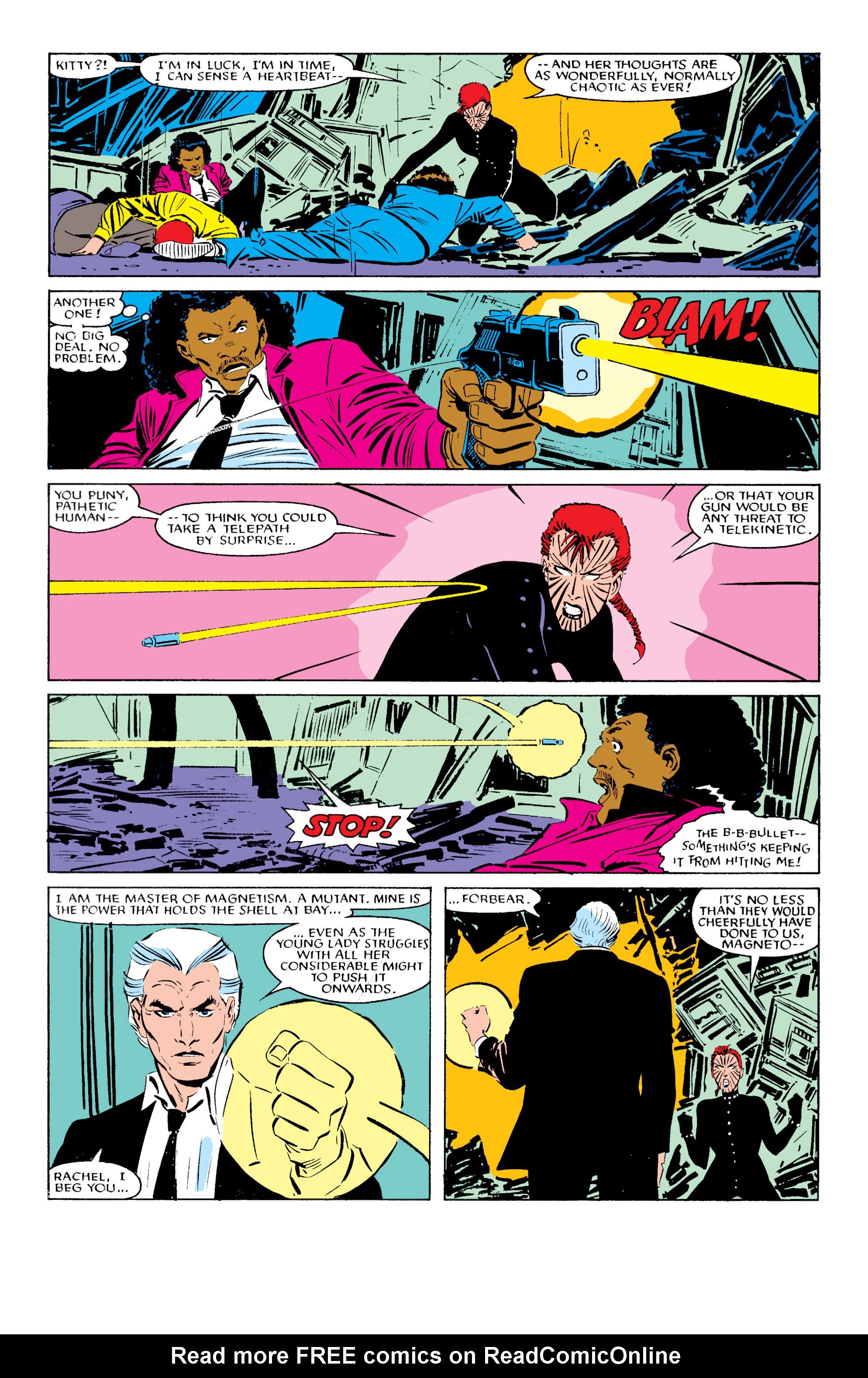 Read online Uncanny X-Men (1963) comic -  Issue #196 - 20