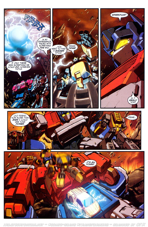 Read online Transformers Armada comic -  Issue #17 - 19
