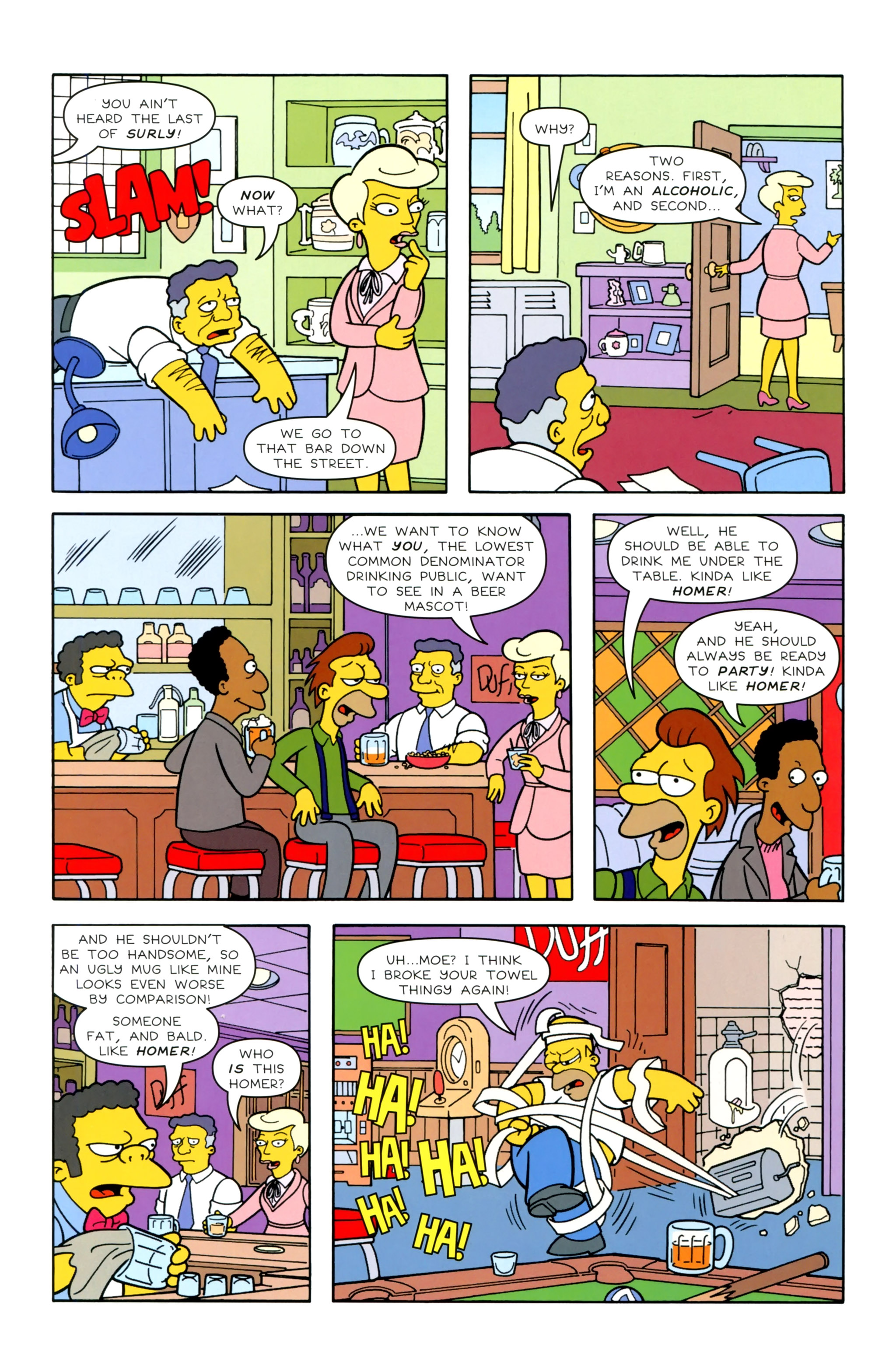 Read online Simpsons Illustrated (2012) comic -  Issue #20 - 7