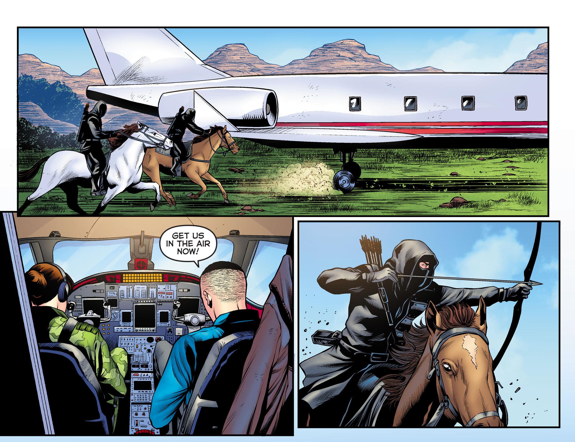 Read online Arrow: The Dark Archer comic -  Issue #9 - 11