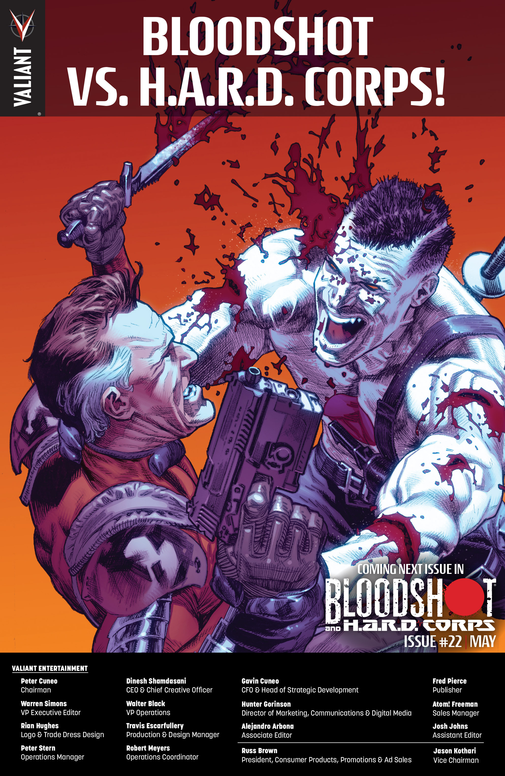 Read online Bloodshot and H.A.R.D.Corps comic -  Issue #21 - 27