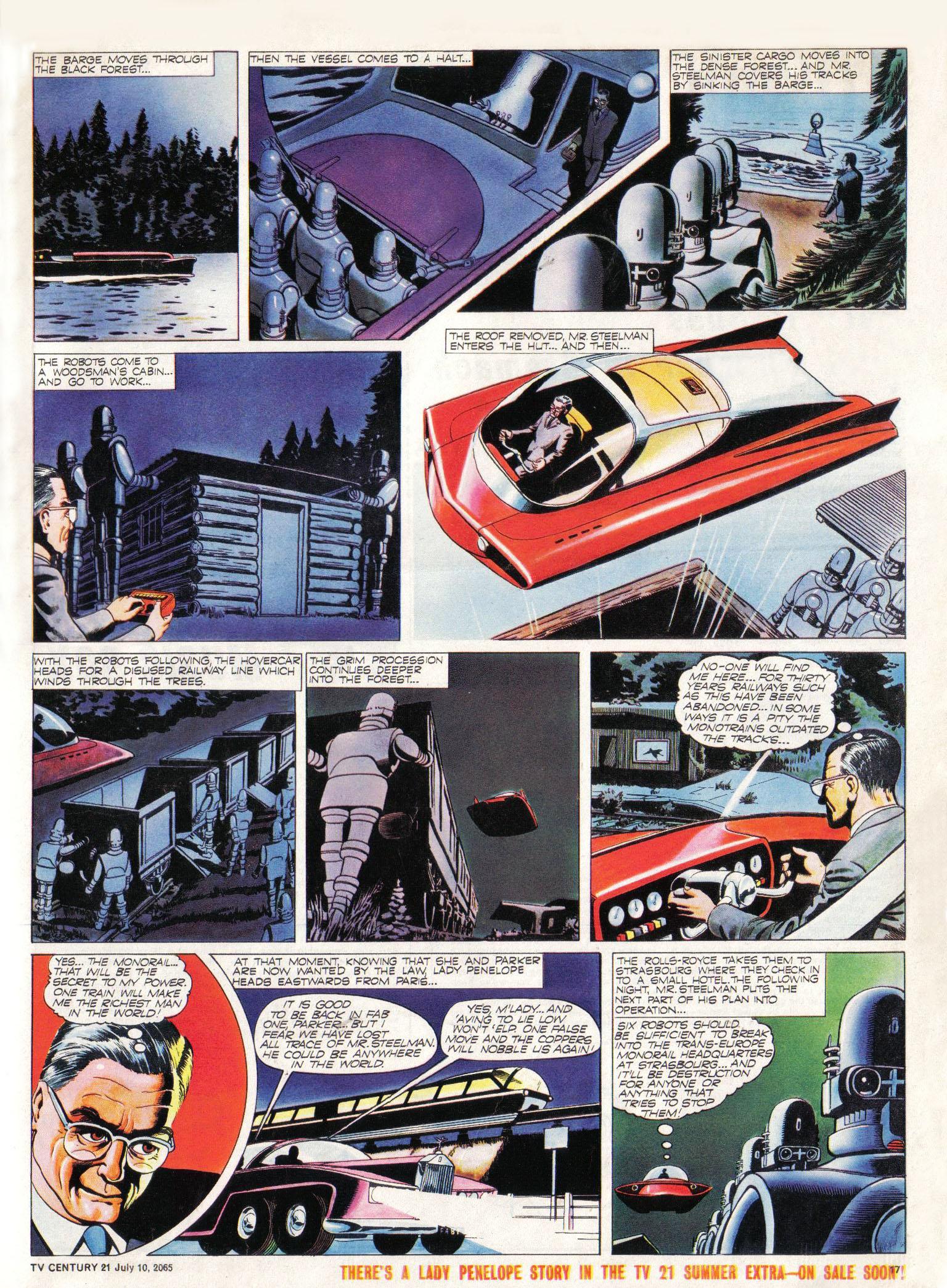 Read online TV Century 21 (TV 21) comic -  Issue #25 - 16