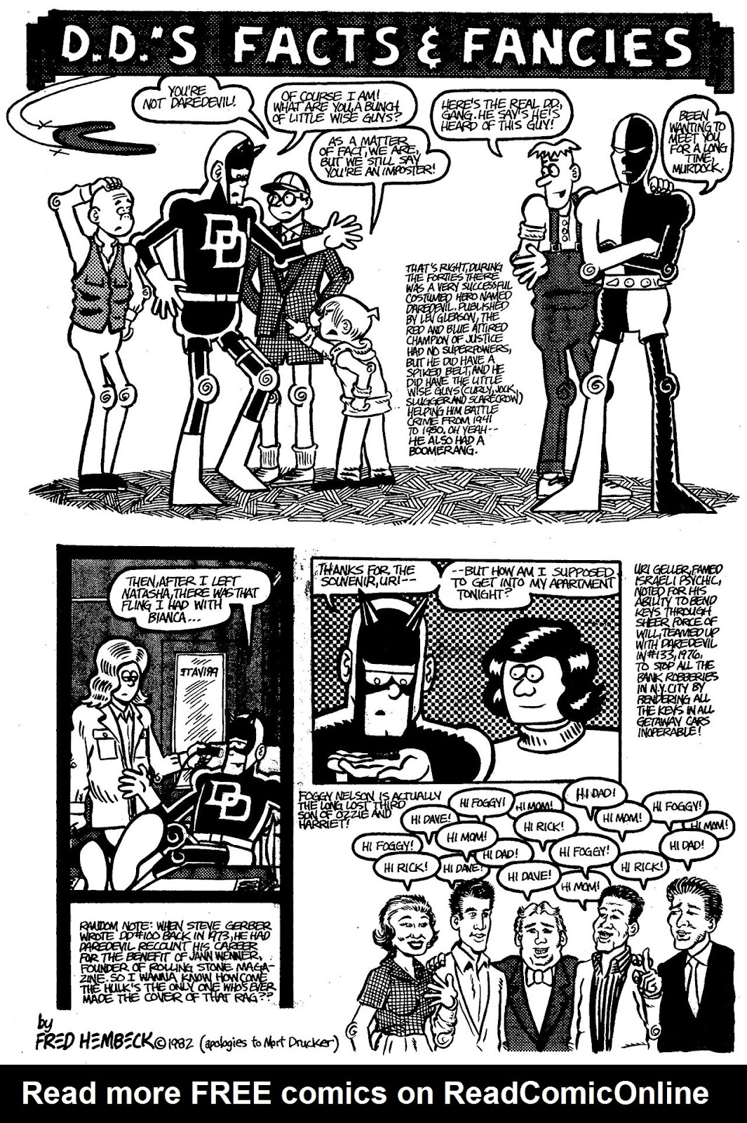 Read online The Nearly Complete Essential Hembeck Archives Omnibus comic -  Issue # TPB (Part 4) - 98