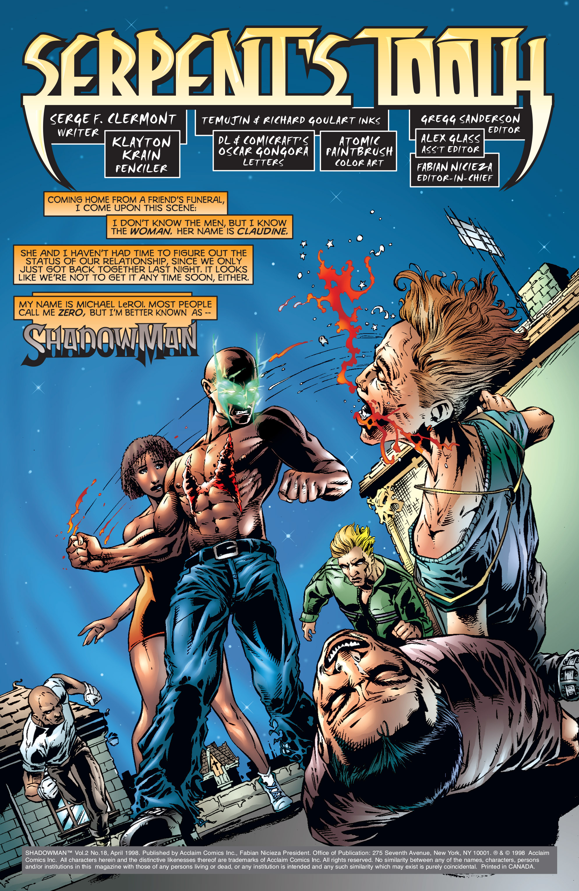 Read online Shadowman (1997) comic -  Issue #18 - 2