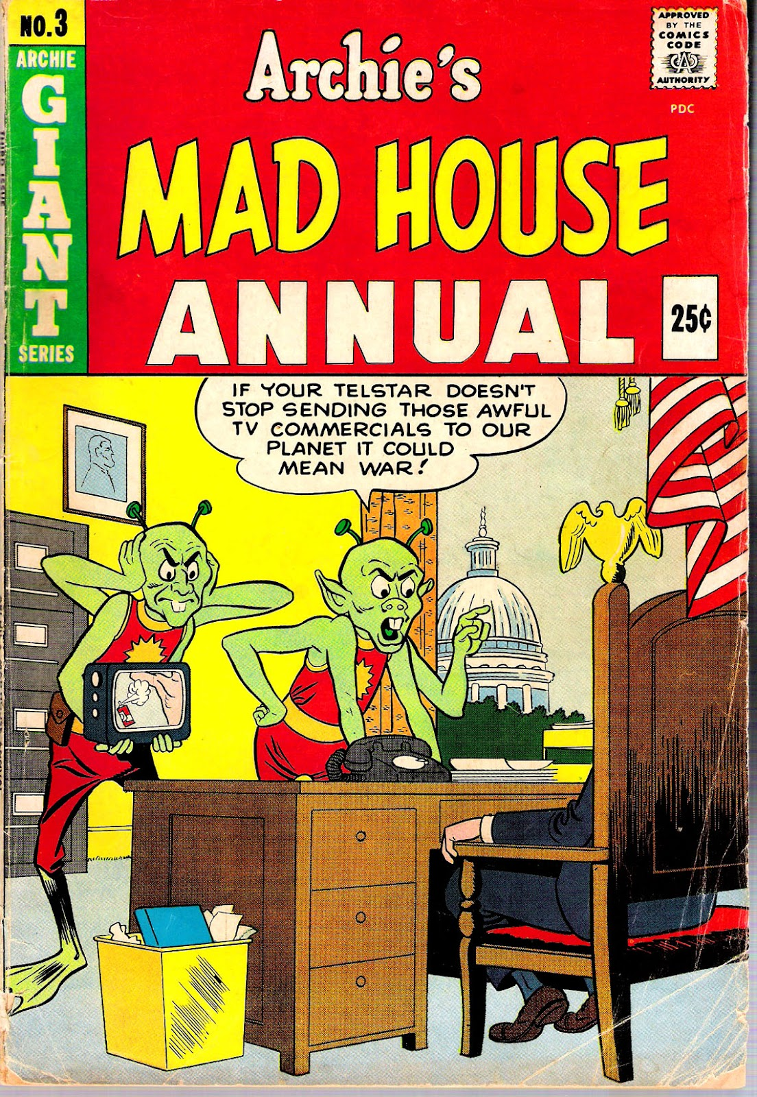 Archie's Madhouse issue Annual 3 - Page 1