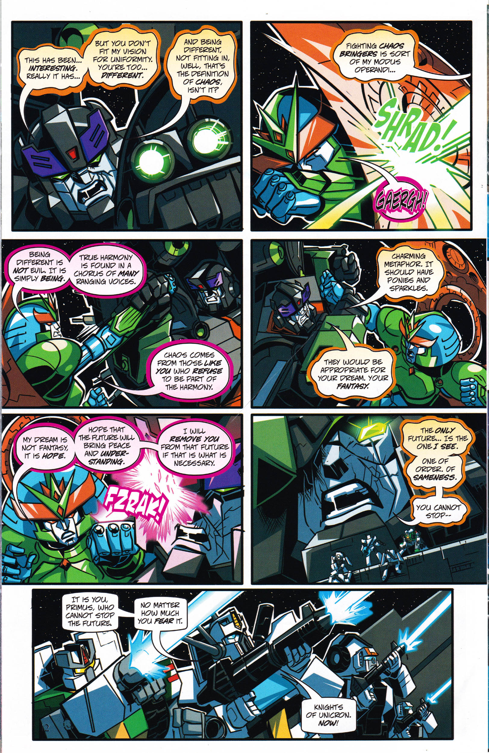 Read online Transformers: Collectors' Club comic -  Issue #66 - 12