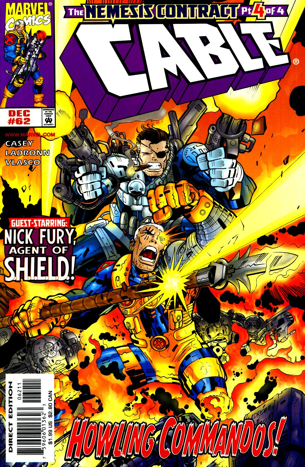 Cable (1993) 62 Page 1