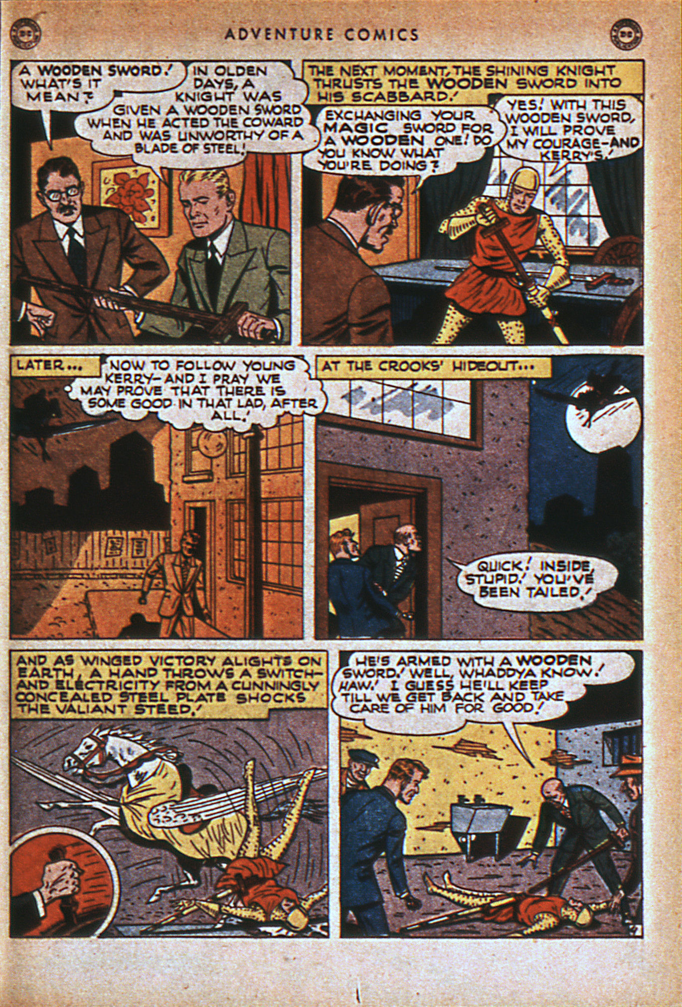 Read online Adventure Comics (1938) comic -  Issue #116 - 26