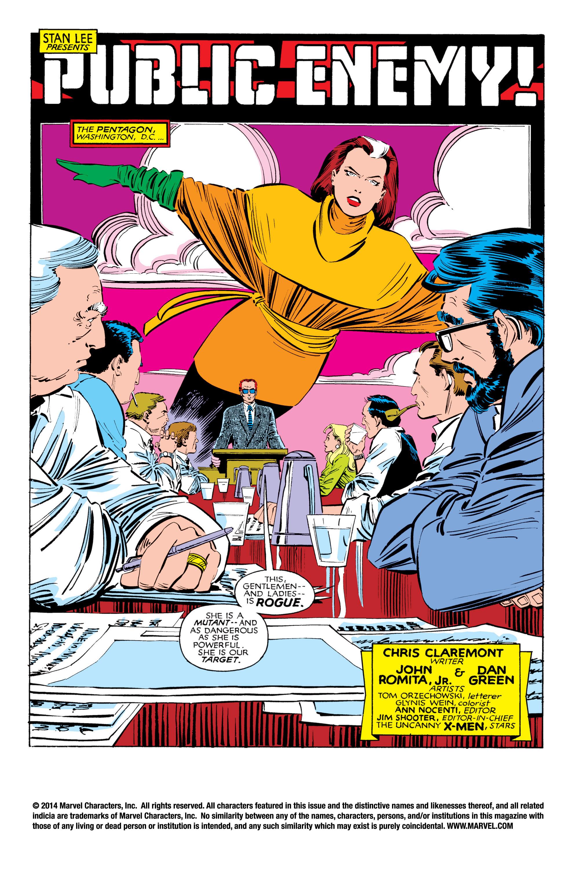 Read online Uncanny X-Men (1963) comic -  Issue #185 - 2