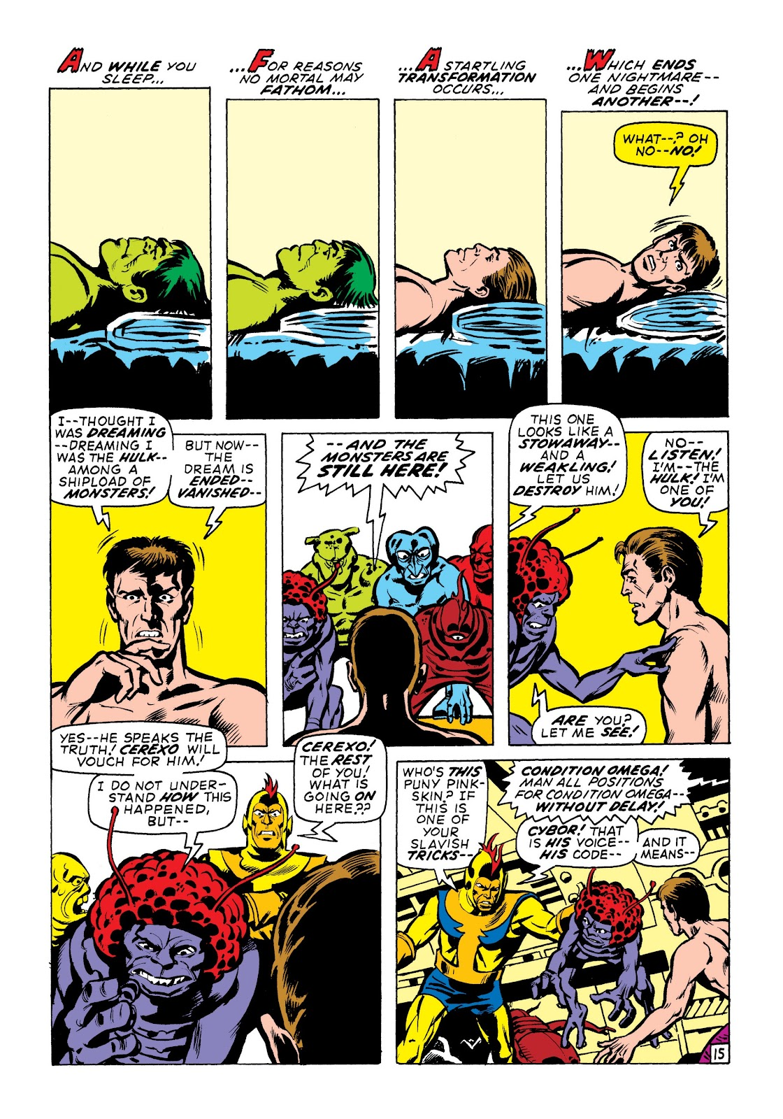 Read online Marvel Masterworks: The Incredible Hulk comic -  Issue # TPB 7 (Part 1) - 61