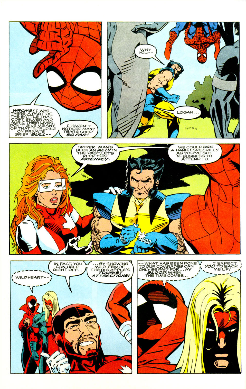 Read online Alpha Flight (1983) comic -  Issue #121 - 9