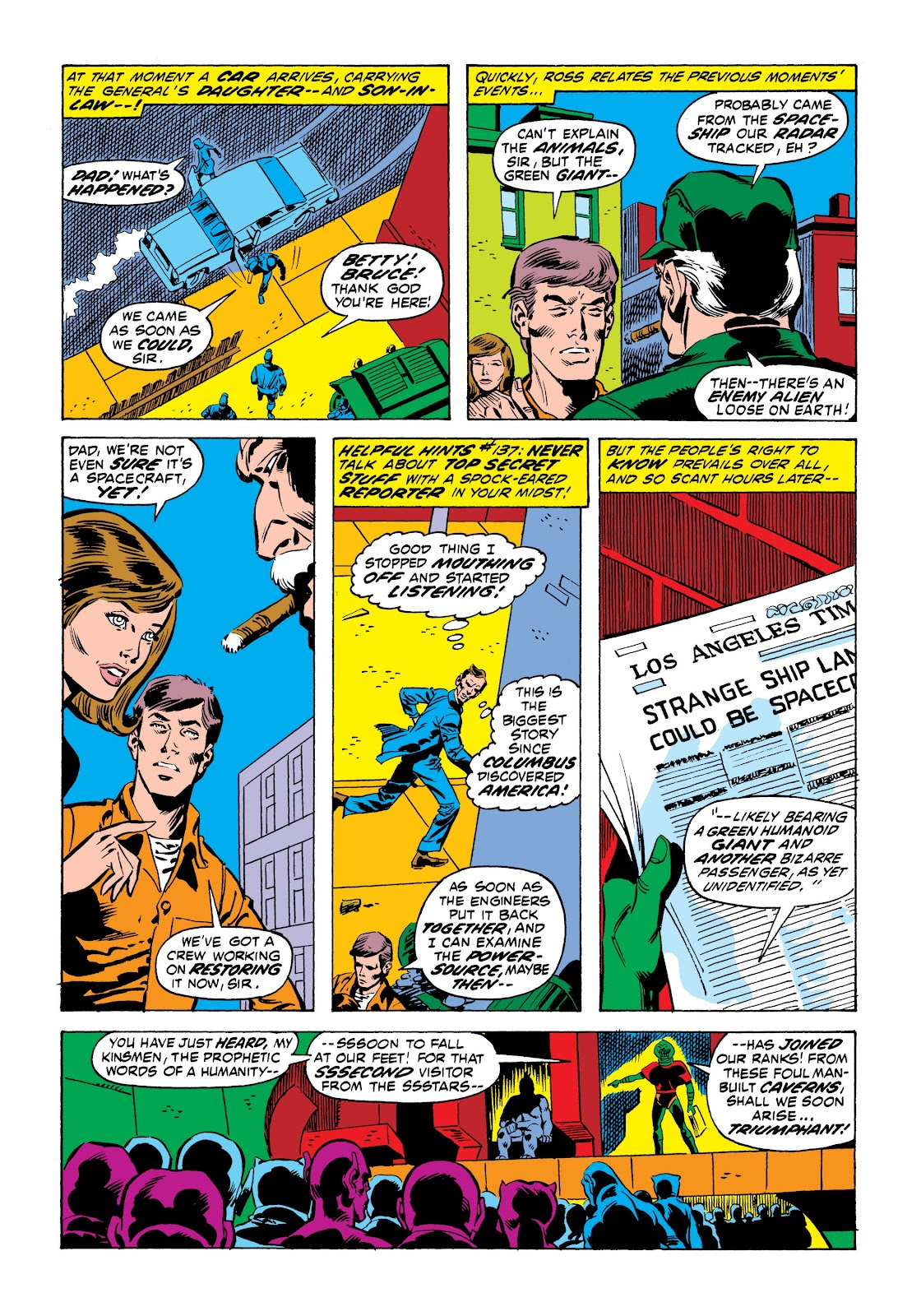 Read online Marvel Masterworks: The Incredible Hulk comic -  Issue # TPB 9 (Part 1) - 39