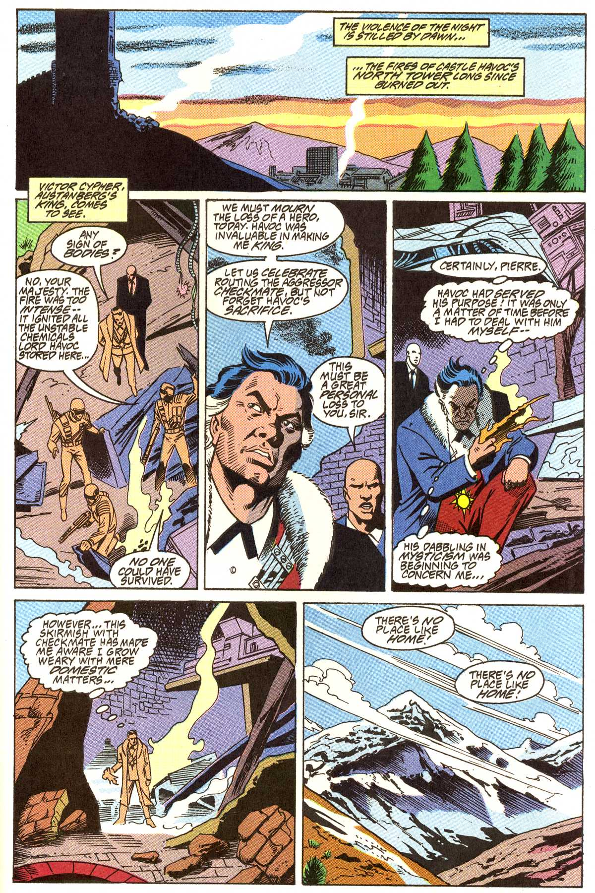 Read online Peter Cannon--Thunderbolt (1992) comic -  Issue #11 - 20