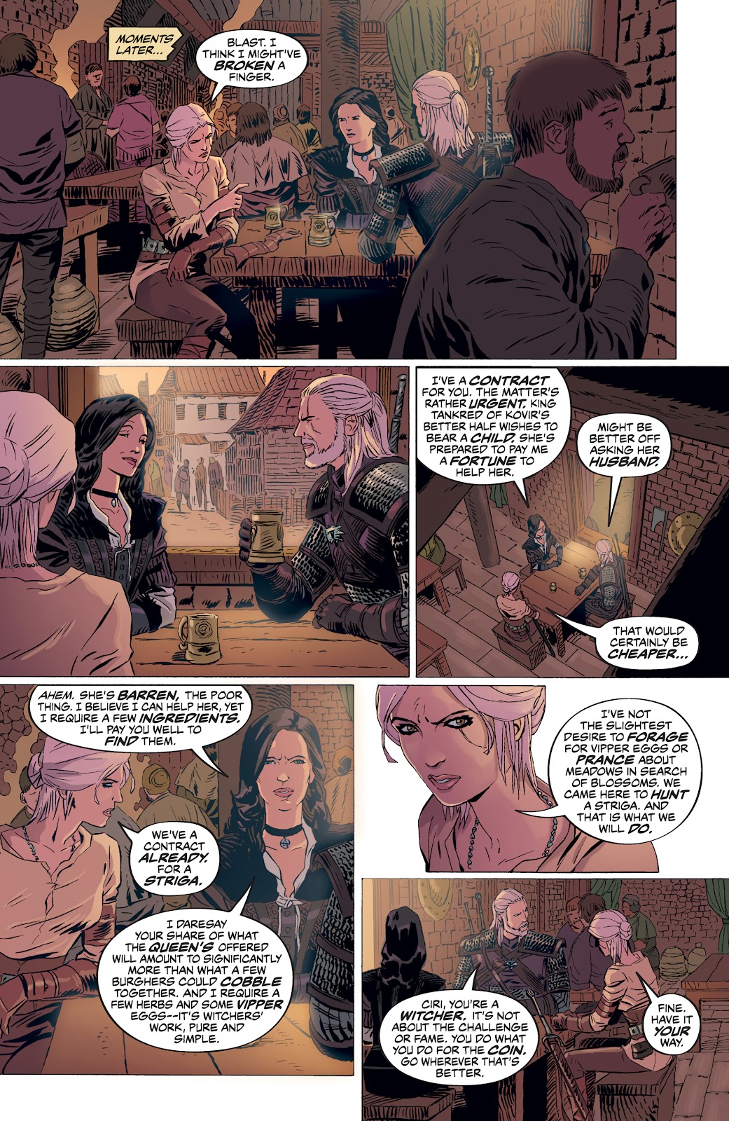 Read online The Witcher Omnibus comic -  Issue # TPB (Part 4) - 56