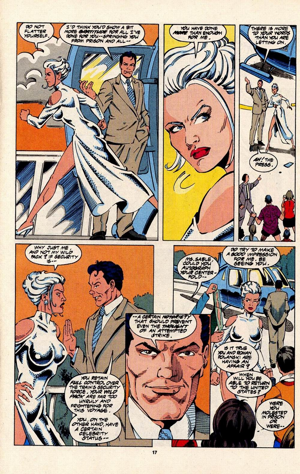 Read online Silver Sable and the Wild Pack comic -  Issue #31 - 14