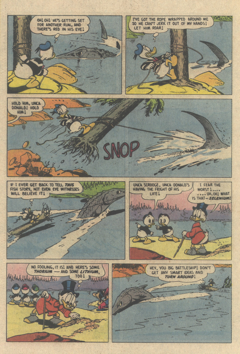 Read online Uncle Scrooge (1953) comic -  Issue #208 - 24