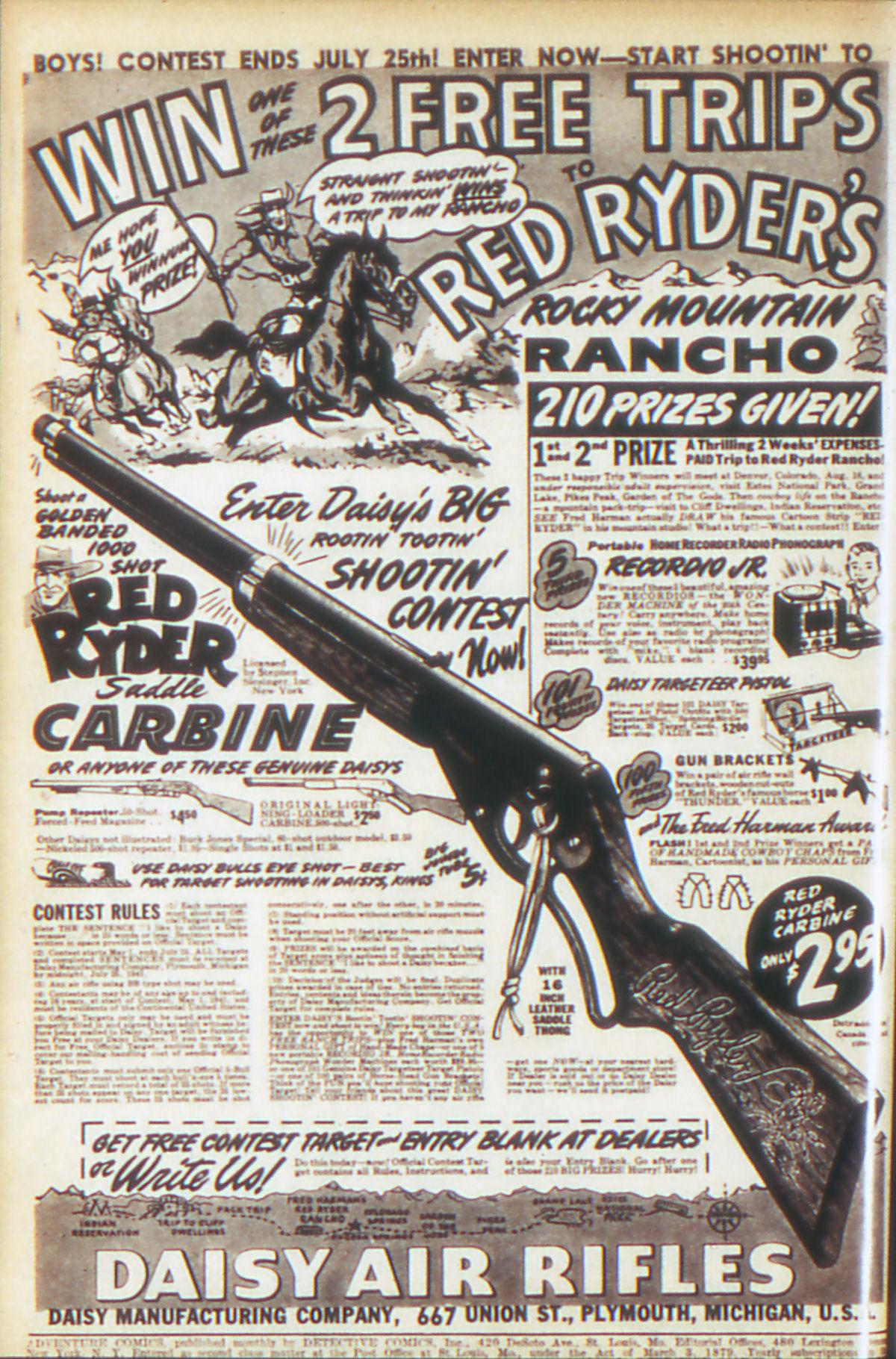 Read online Adventure Comics (1938) comic -  Issue #64 - 3
