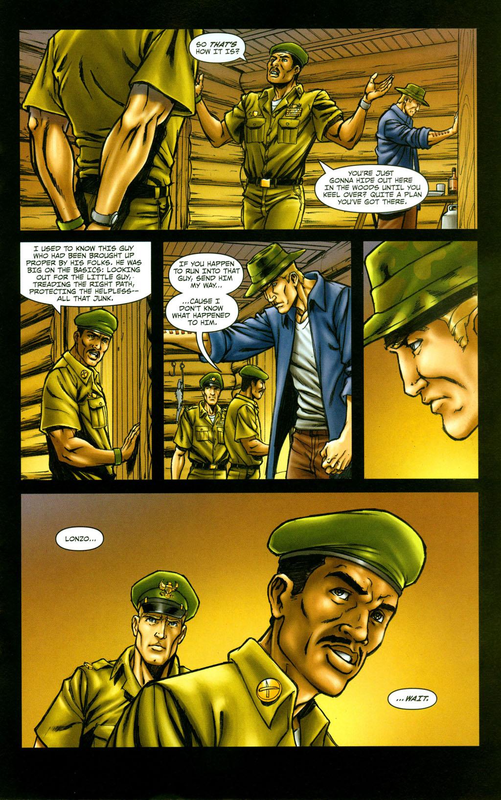 Read online Snake Eyes: Declassified comic -  Issue #5 - 23