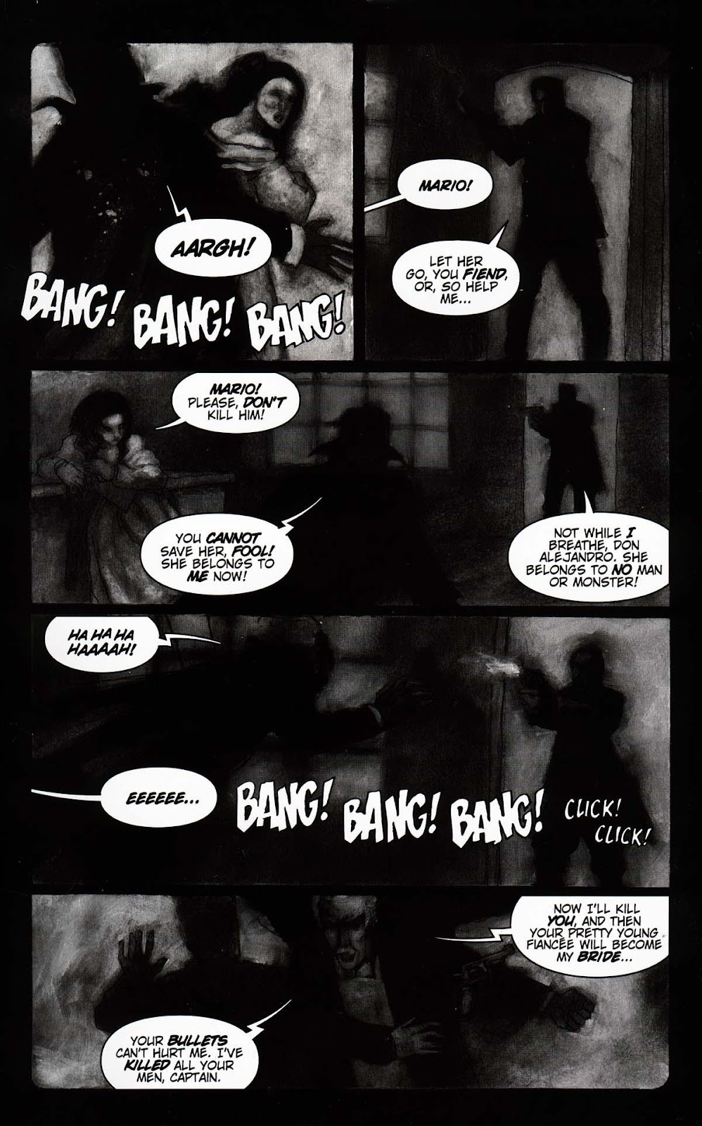 Read online Vampire the Masquerade comic -  Issue # Toreador - 5