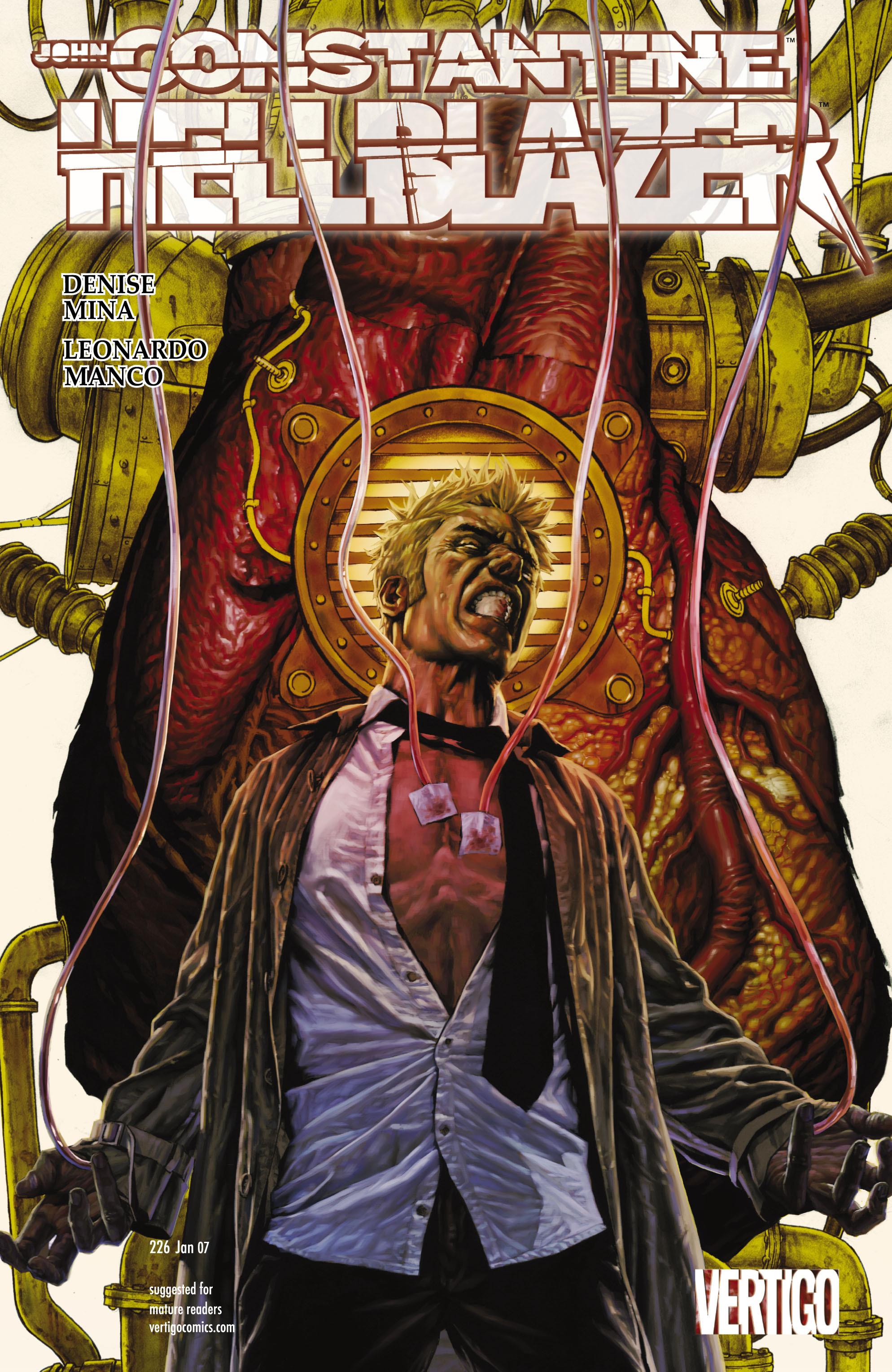 Hellblazer issue 226 - Page 1