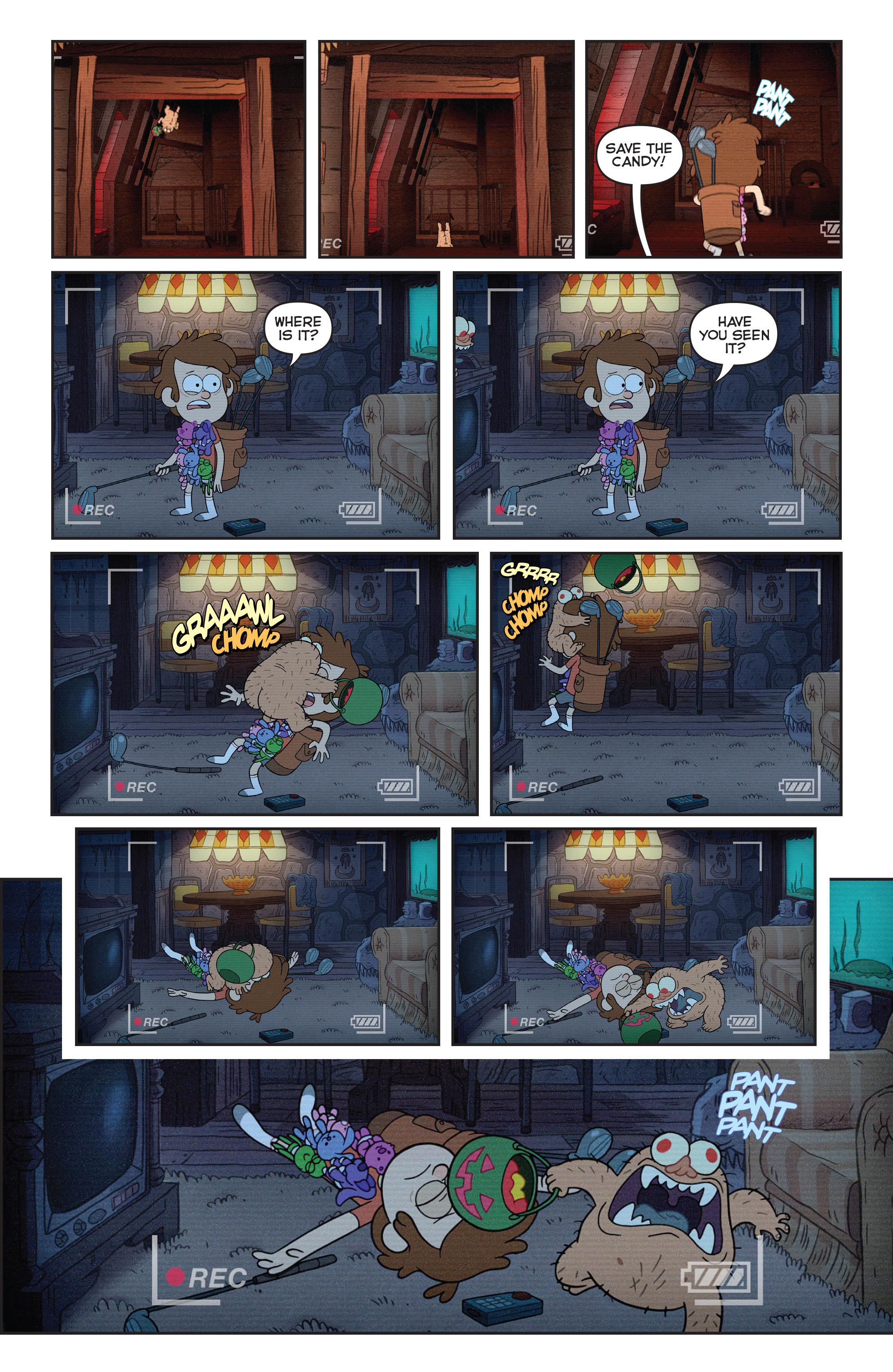 Read online Disney Gravity Falls Shorts Cinestory Comic comic -  Issue #1 - 7