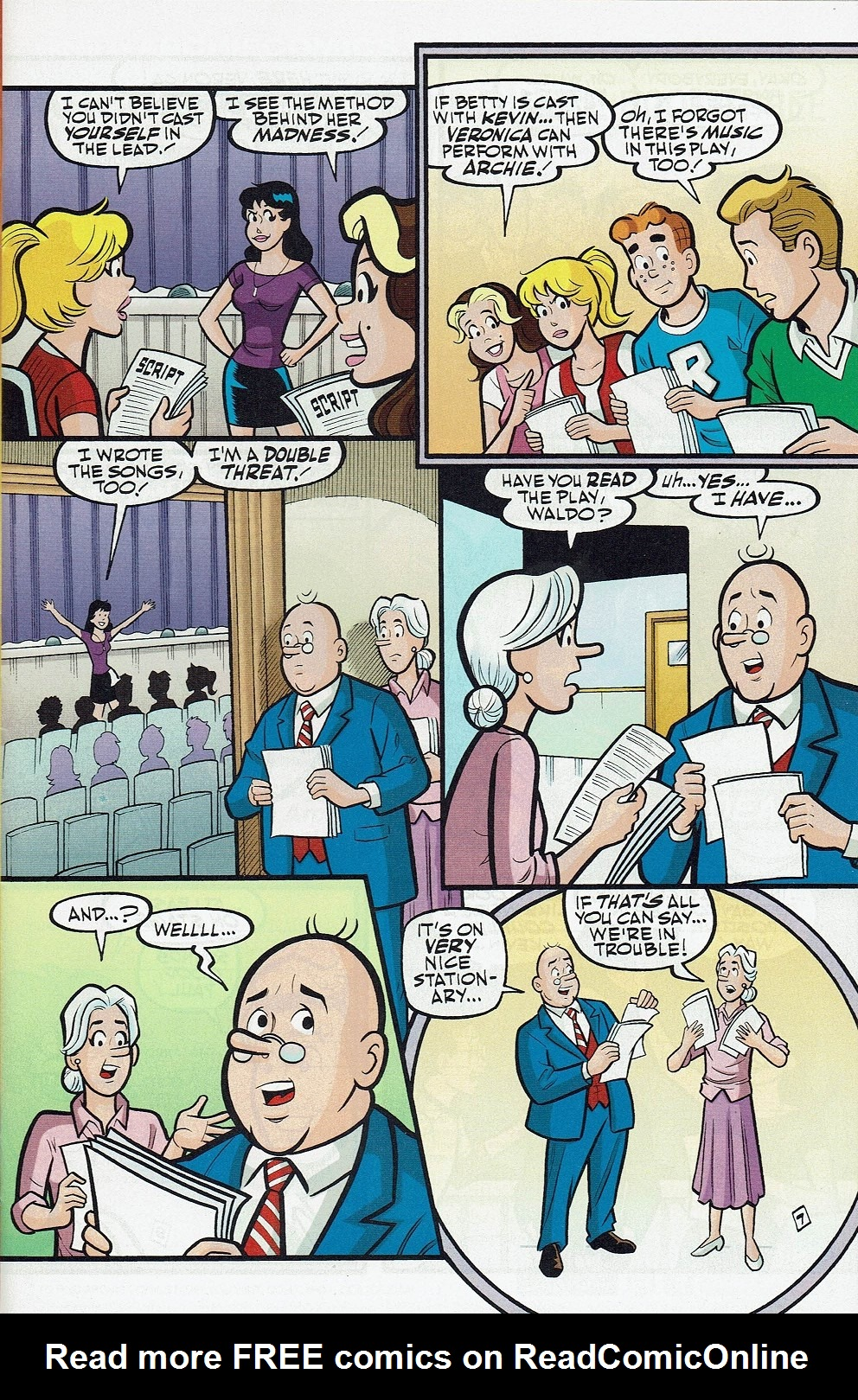 Read online Kevin Keller comic -  Issue #8 - 12